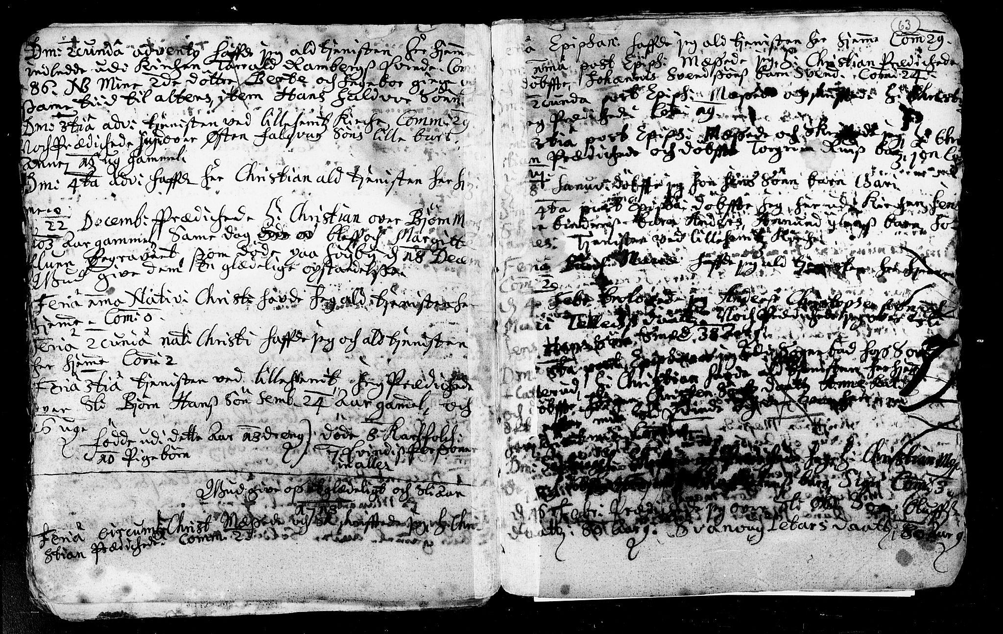 SAKO, Heddal kirkebøker, F/Fa/L0002: Ministerialbok nr. I 2, 1699-1722, s. 63