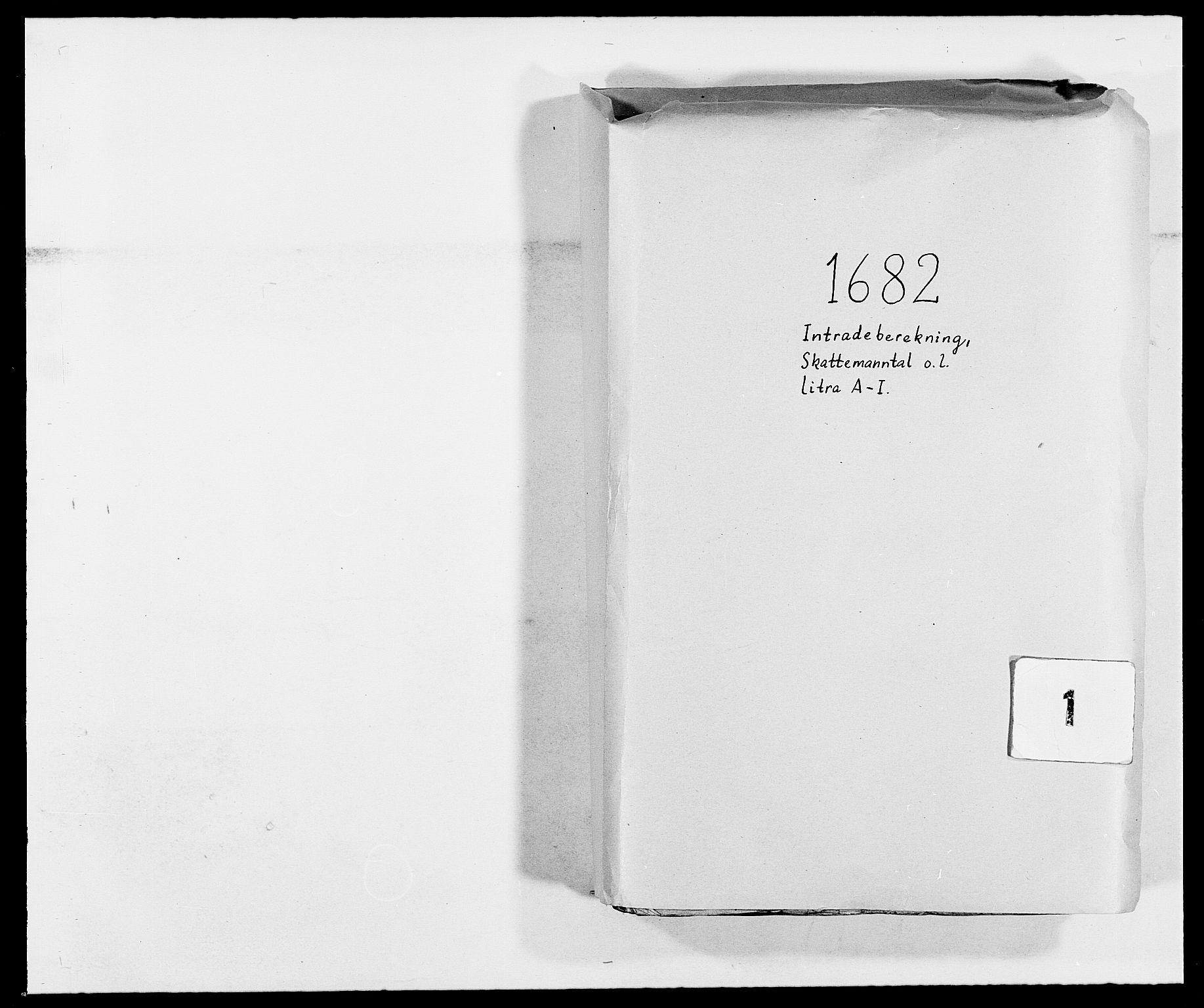RA, Rentekammeret inntil 1814, Reviderte regnskaper, Fogderegnskap, R02/L0103: Fogderegnskap Moss og Verne kloster, 1682-1684, s. 1