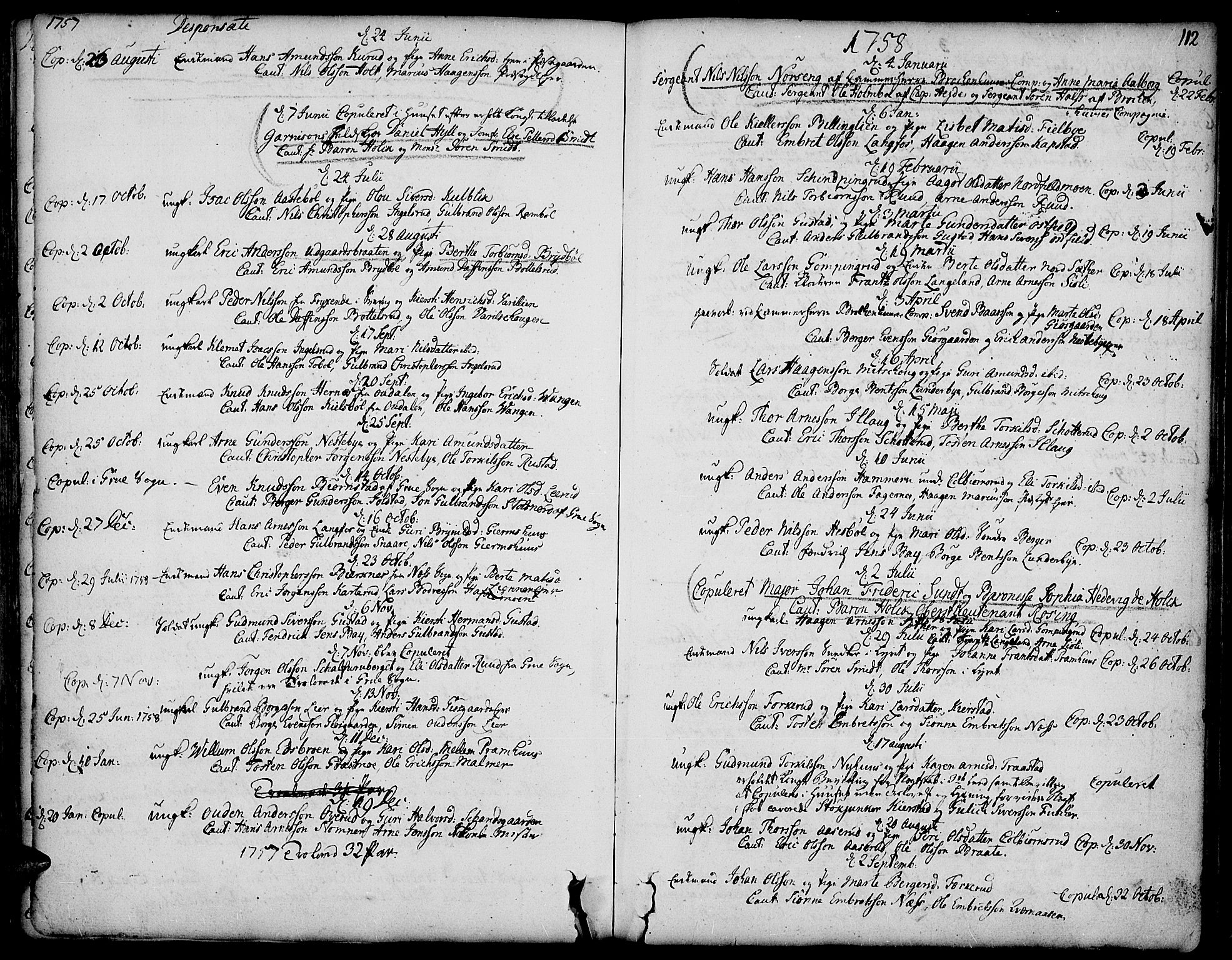 SAH, Vinger prestekontor, Ministerialbok nr. 3, 1751-1772, s. 112