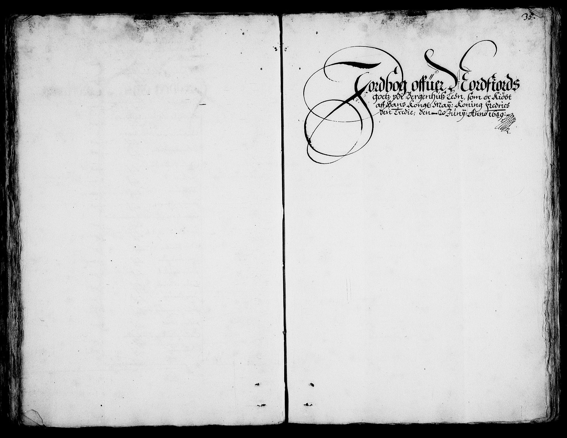 RA, Rentekammeret inntil 1814, Realistisk ordnet avdeling, On/L0001: Statens gods, 1651, s. 1034b-1035a