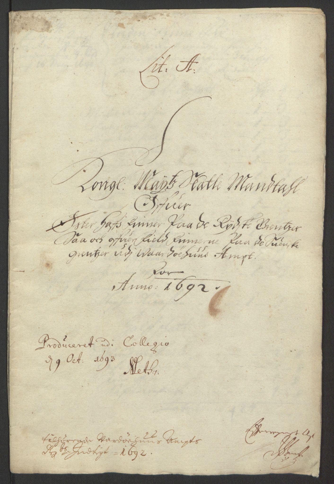 RA, Rentekammeret inntil 1814, Reviderte regnskaper, Fogderegnskap, R69/L4851: Fogderegnskap Finnmark/Vardøhus, 1691-1700, s. 138