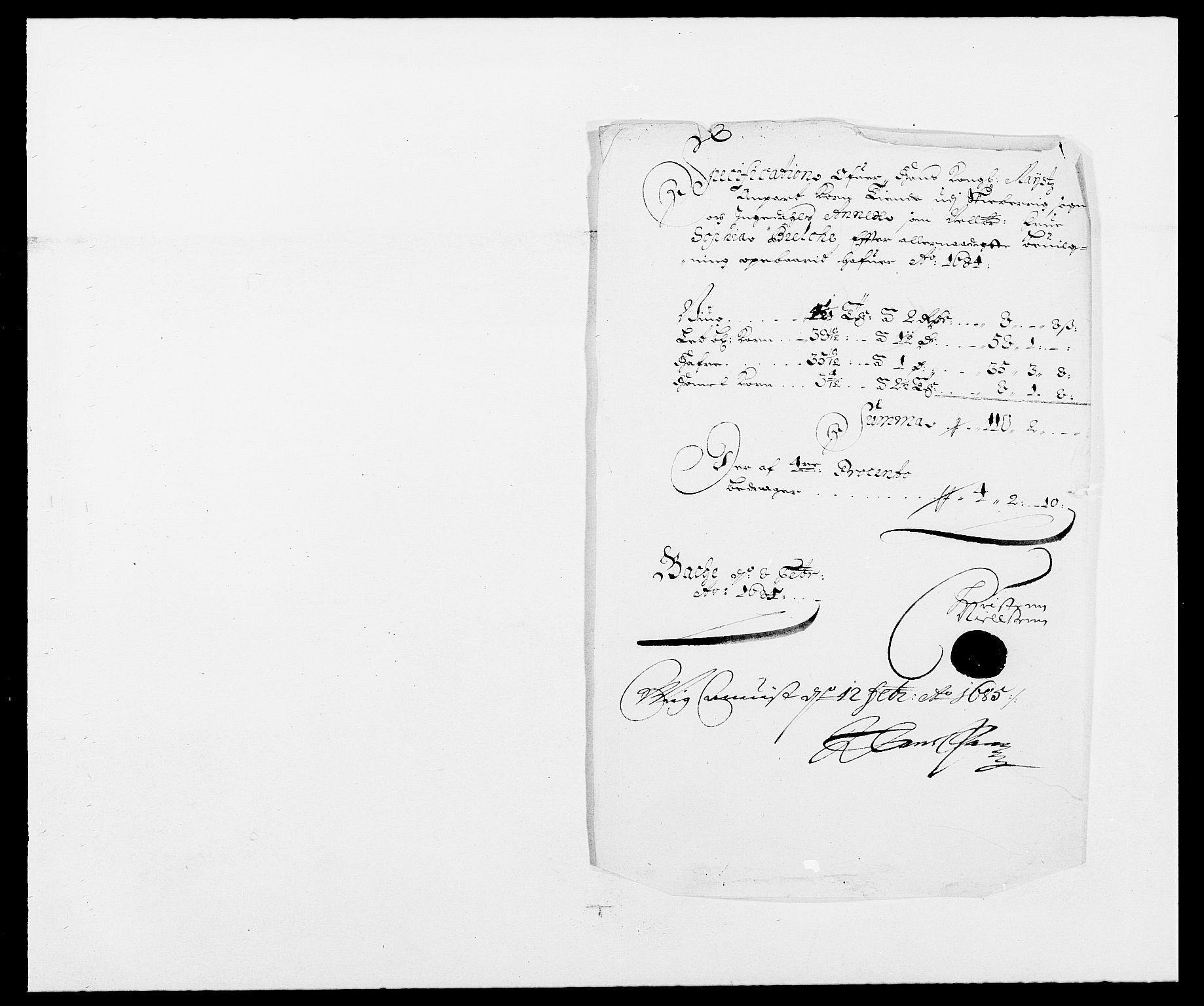 RA, Rentekammeret inntil 1814, Reviderte regnskaper, Fogderegnskap, R01/L0005: Fogderegnskap Idd og Marker , 1682-1684, s. 172