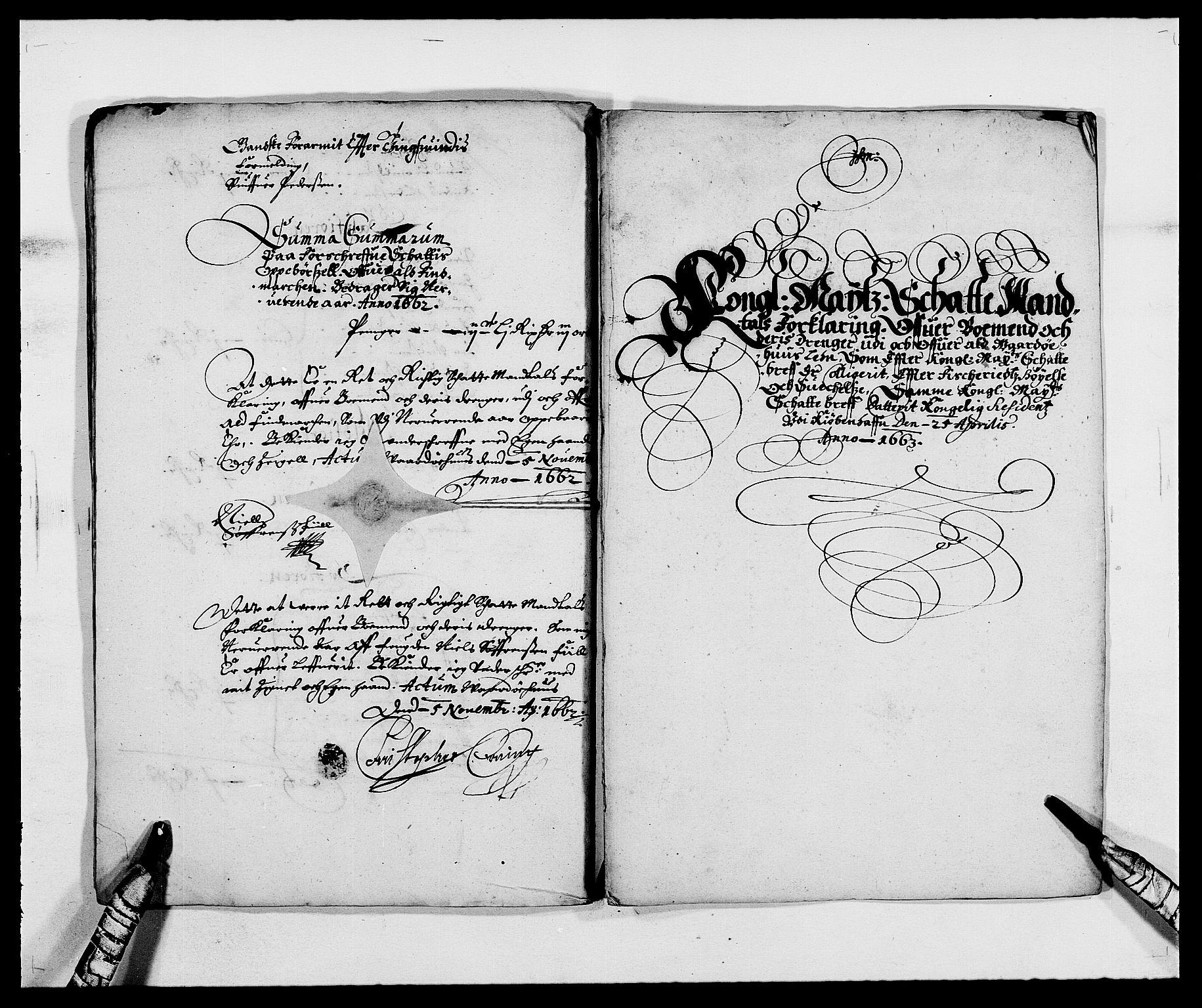 RA, Rentekammeret inntil 1814, Reviderte regnskaper, Fogderegnskap, R69/L4849: Fogderegnskap Finnmark/Vardøhus, 1661-1679, s. 36