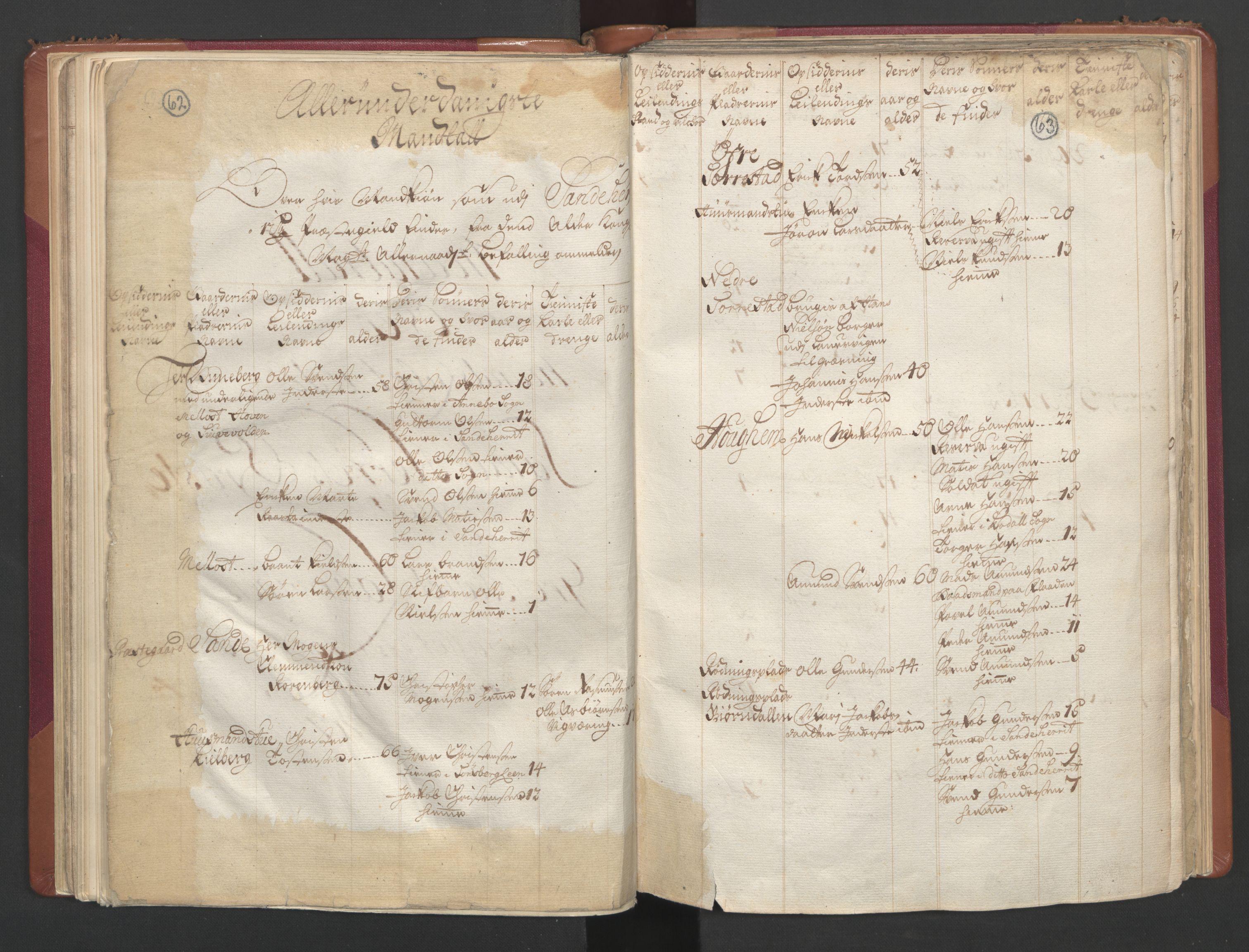 RA, Manntallet 1701, nr. 2: Solør, Odal og Østerdal fogderi og Larvik grevskap, 1701, s. 62-63