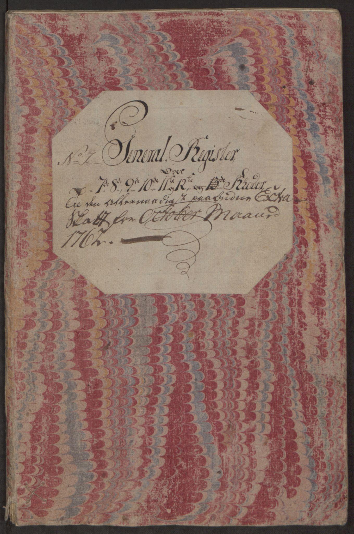 RA, Rentekammeret inntil 1814, Reviderte regnskaper, Byregnskaper, R/Rp/L0365: [P20] Kontribusjonsregnskap, 1762, s. 56