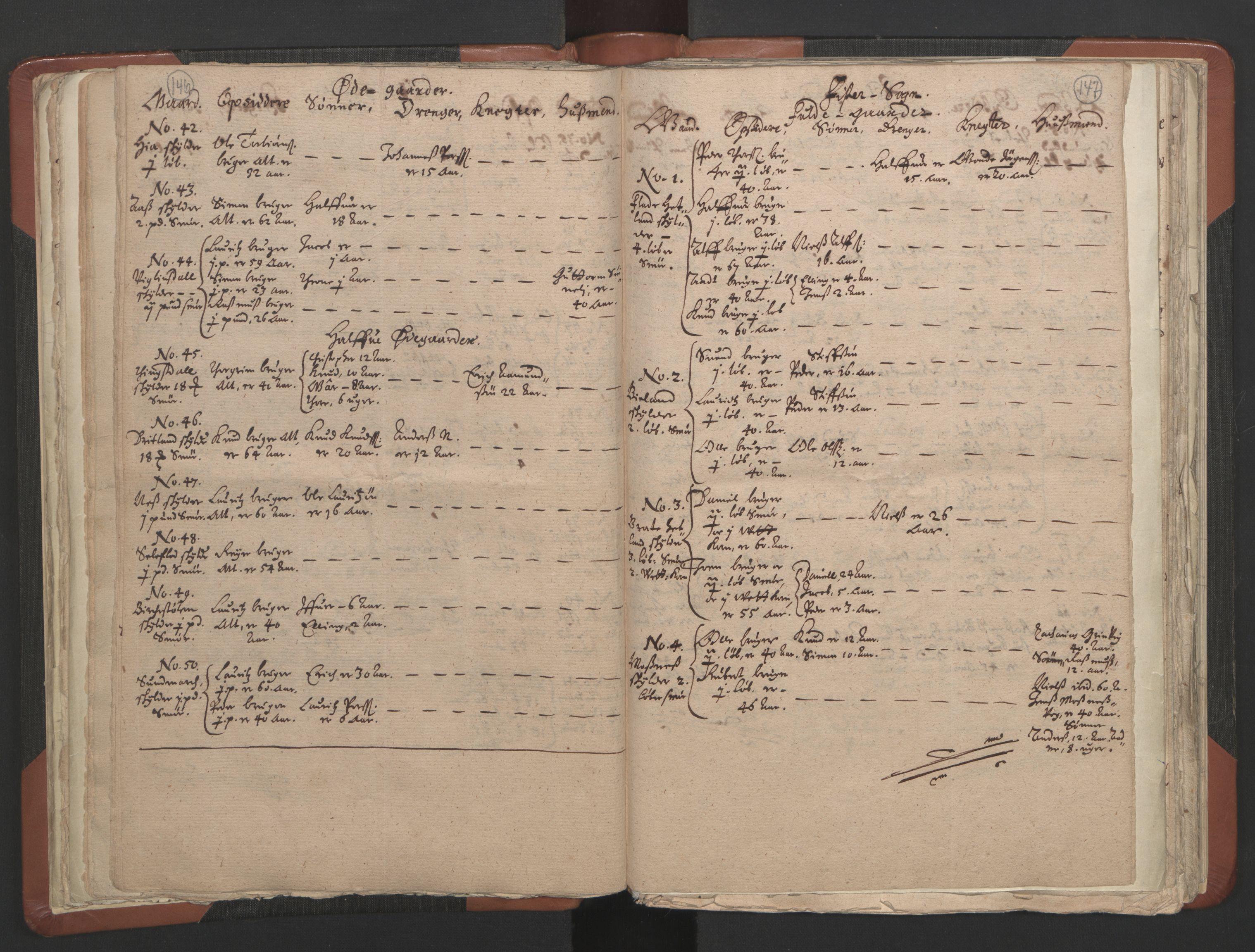 RA, Sogneprestenes manntall 1664-1666, nr. 19: Ryfylke prosti, 1664-1666, s. 146-147