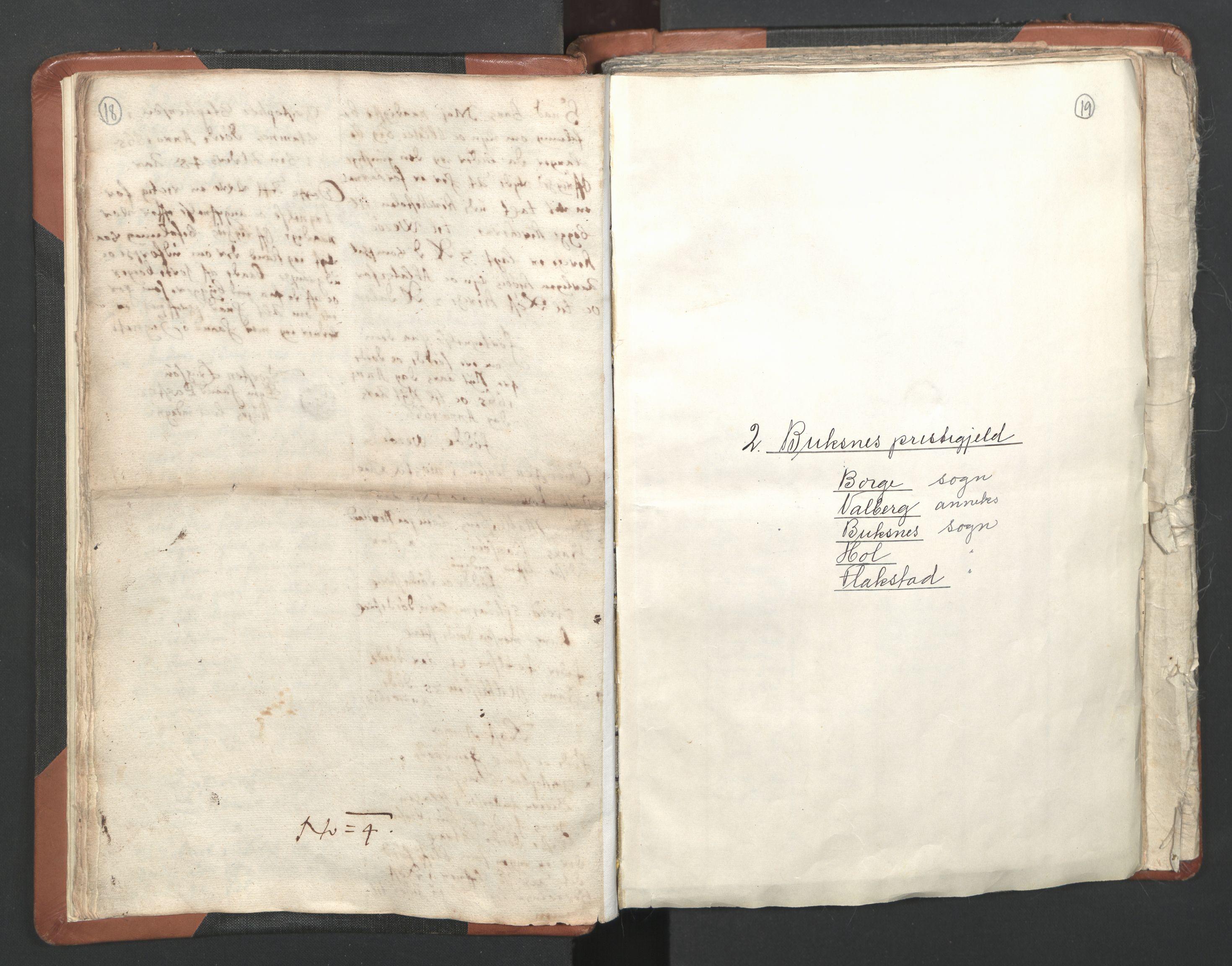RA, Sogneprestenes manntall 1664-1666, nr. 36: Lofoten og Vesterålen prosti, Senja prosti og Troms prosti, 1664-1666, s. 18-19