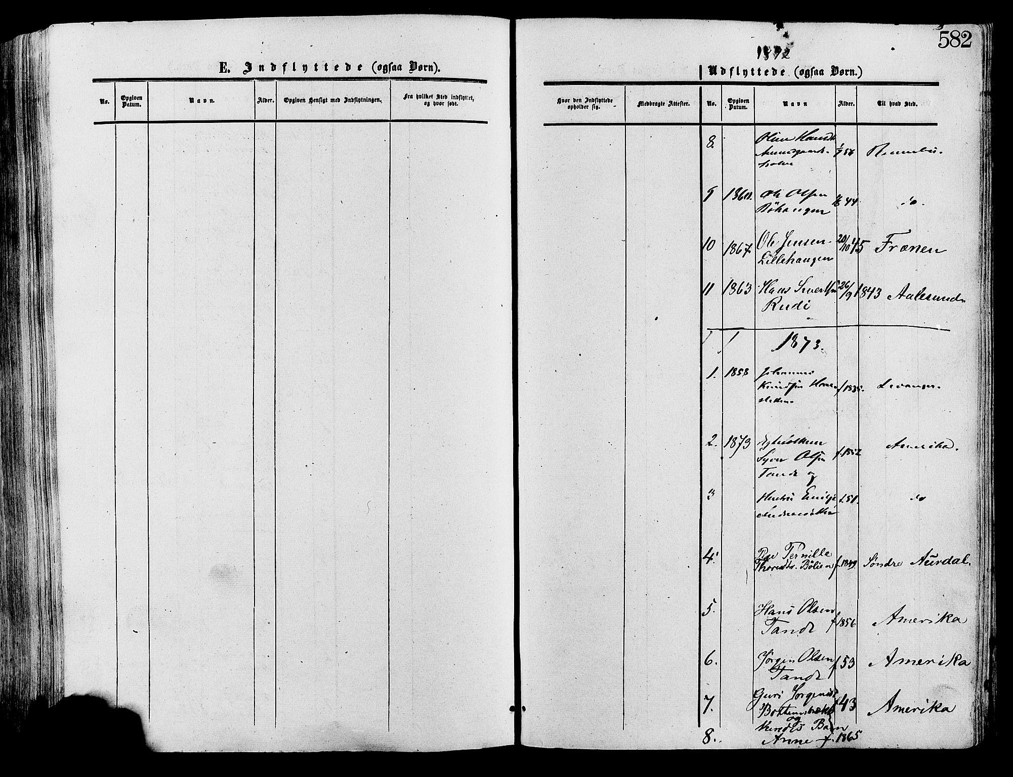 SAH, Lesja prestekontor, Ministerialbok nr. 8, 1854-1880, s. 582
