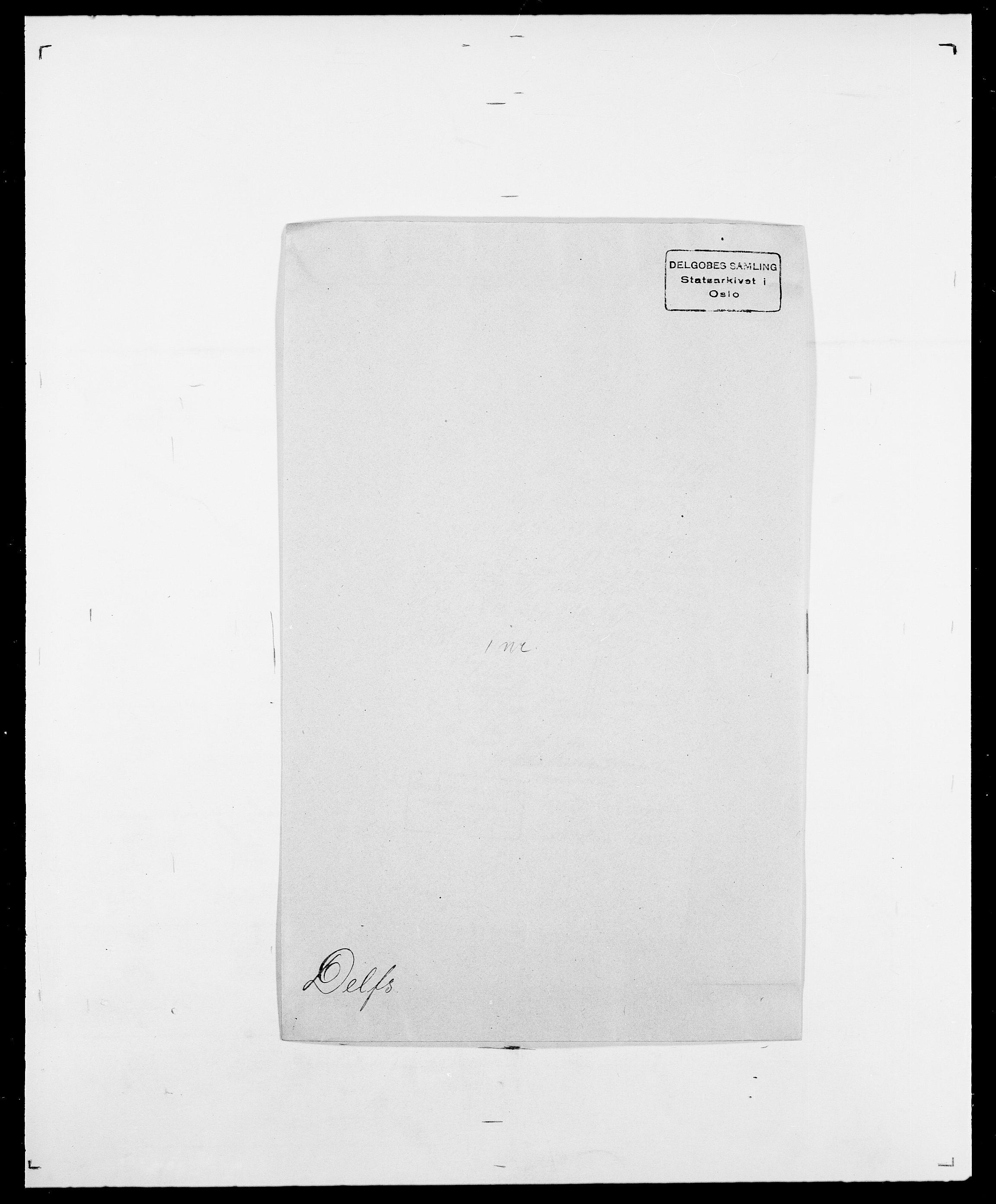 SAO, Delgobe, Charles Antoine - samling, D/Da/L0009: Dahl - v. Düren, s. 469