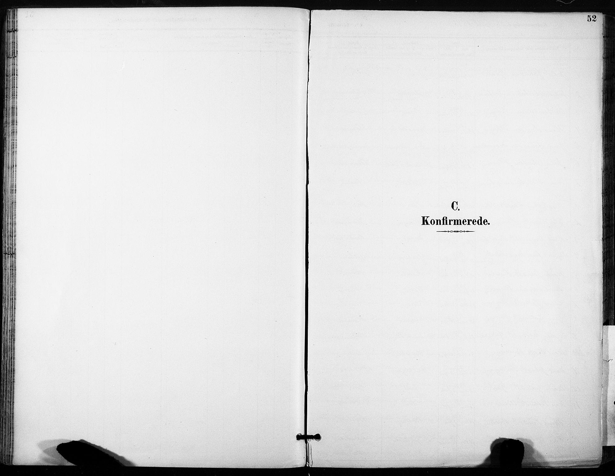 SAT, Ministerialprotokoller, klokkerbøker og fødselsregistre - Sør-Trøndelag, 685/L0973: Ministerialbok nr. 685A10, 1891-1907, s. 52