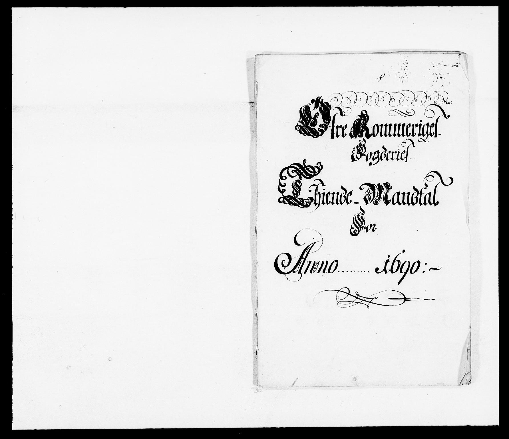 RA, Rentekammeret inntil 1814, Reviderte regnskaper, Fogderegnskap, R12/L0702: Fogderegnskap Øvre Romerike, 1690, s. 23