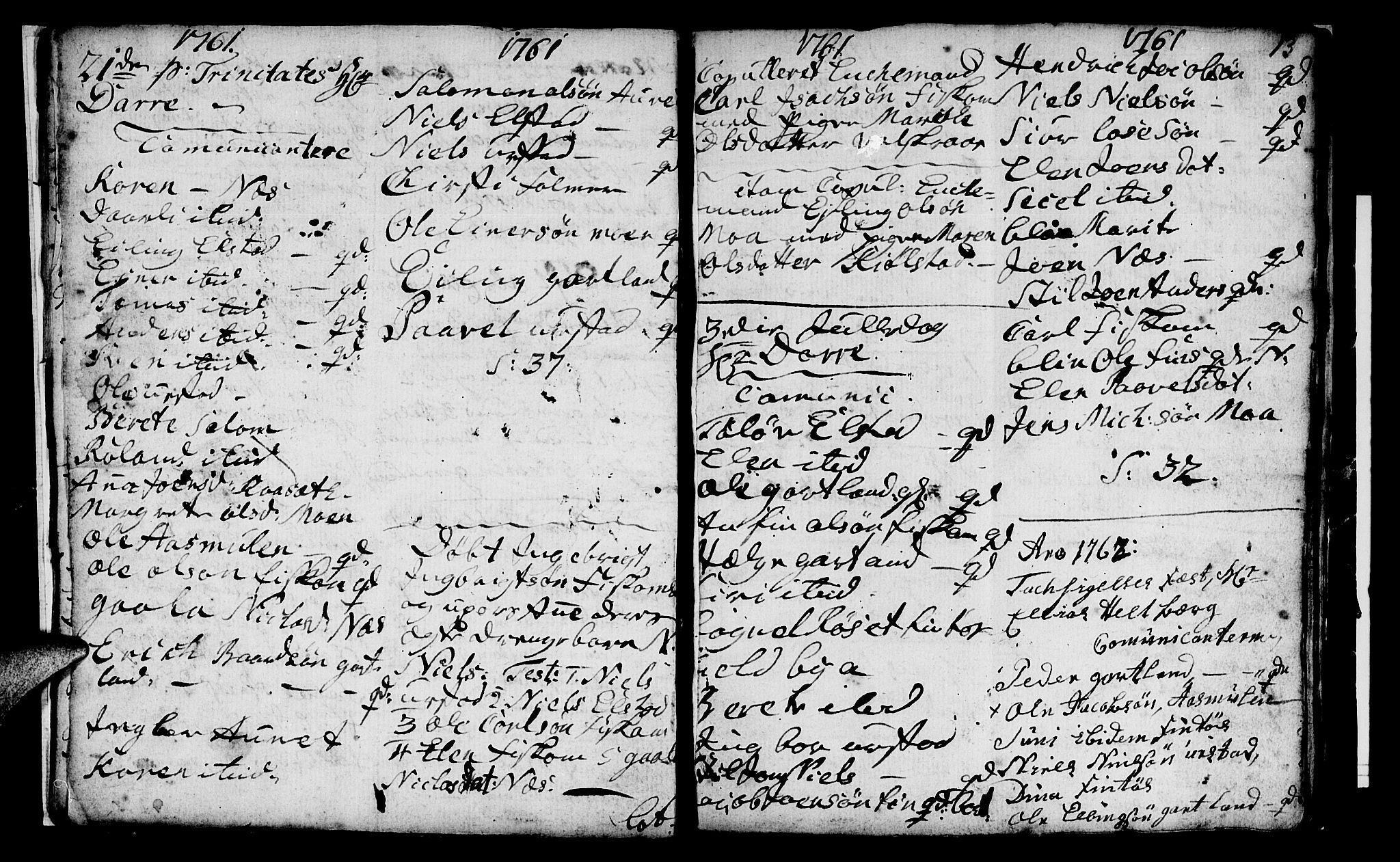 SAT, Ministerialprotokoller, klokkerbøker og fødselsregistre - Nord-Trøndelag, 759/L0526: Ministerialbok nr. 759A02, 1758-1765, s. 13