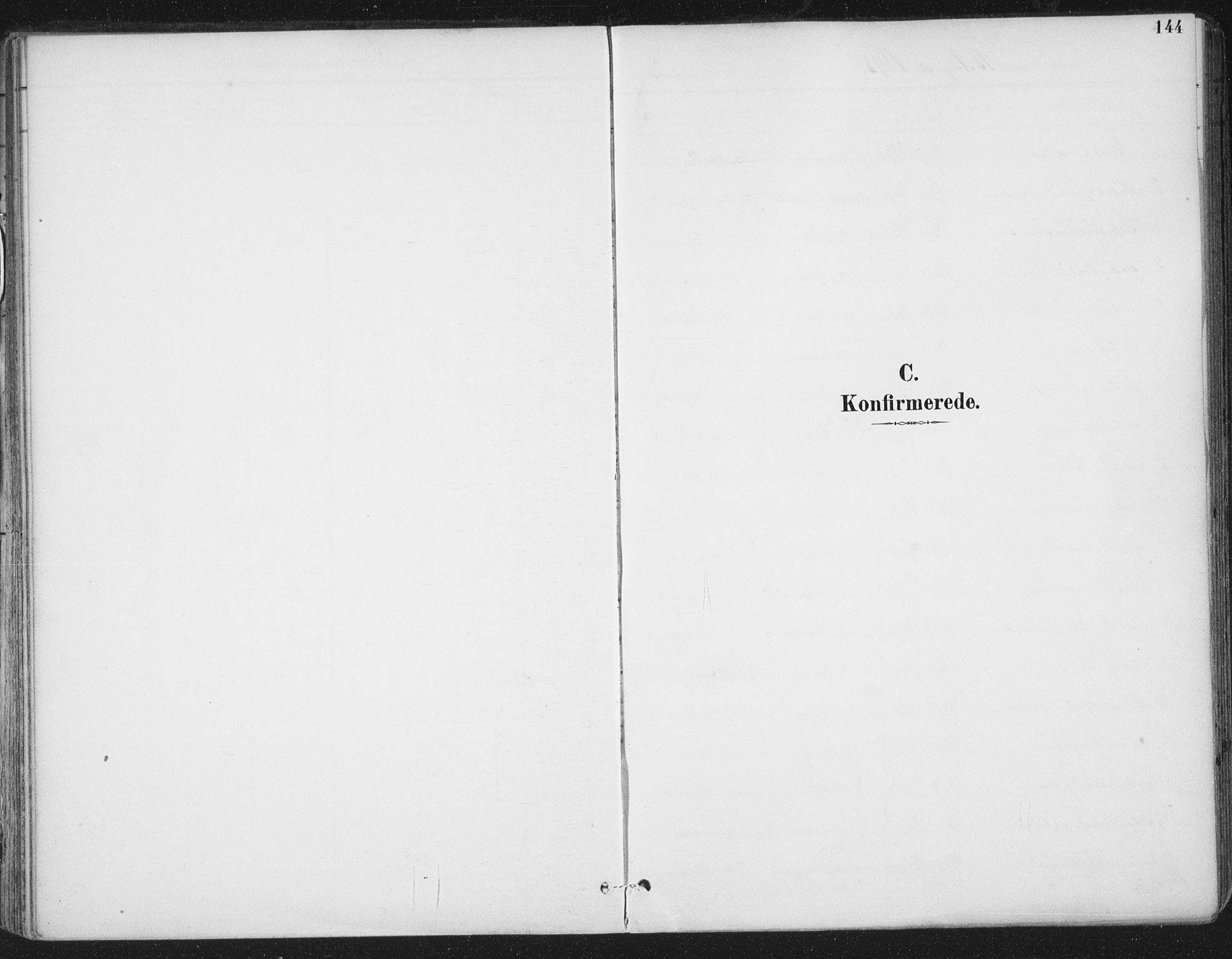 SAT, Ministerialprotokoller, klokkerbøker og fødselsregistre - Sør-Trøndelag, 659/L0743: Ministerialbok nr. 659A13, 1893-1910, s. 144