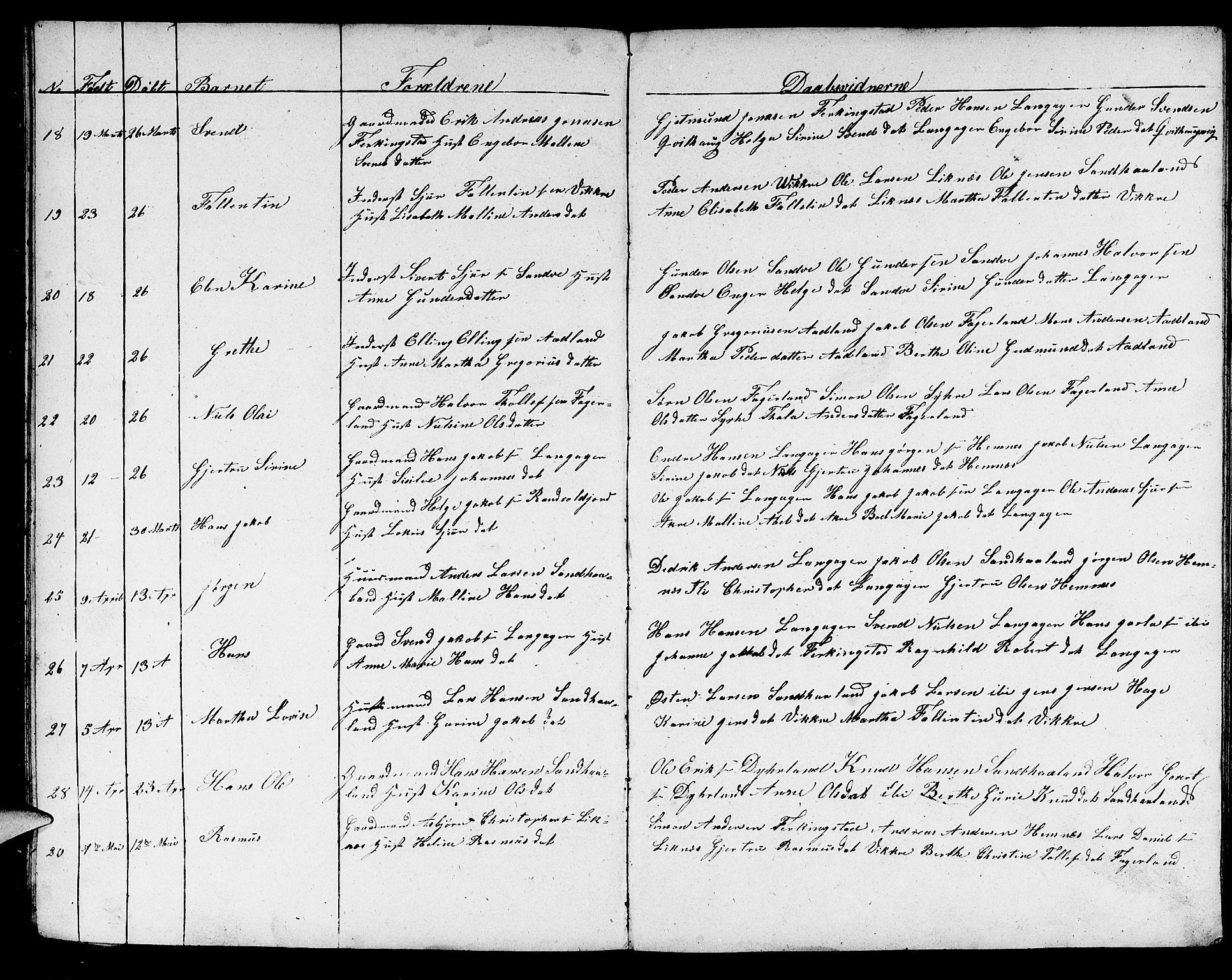 SAST, Skudenes sokneprestkontor, H/Ha/Hab/L0002: Klokkerbok nr. B 2, 1848-1873
