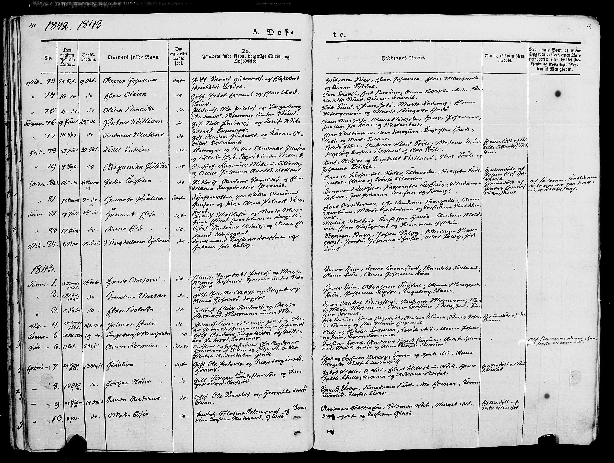 SAT, Ministerialprotokoller, klokkerbøker og fødselsregistre - Nord-Trøndelag, 773/L0614: Ministerialbok nr. 773A05, 1831-1856, s. 41