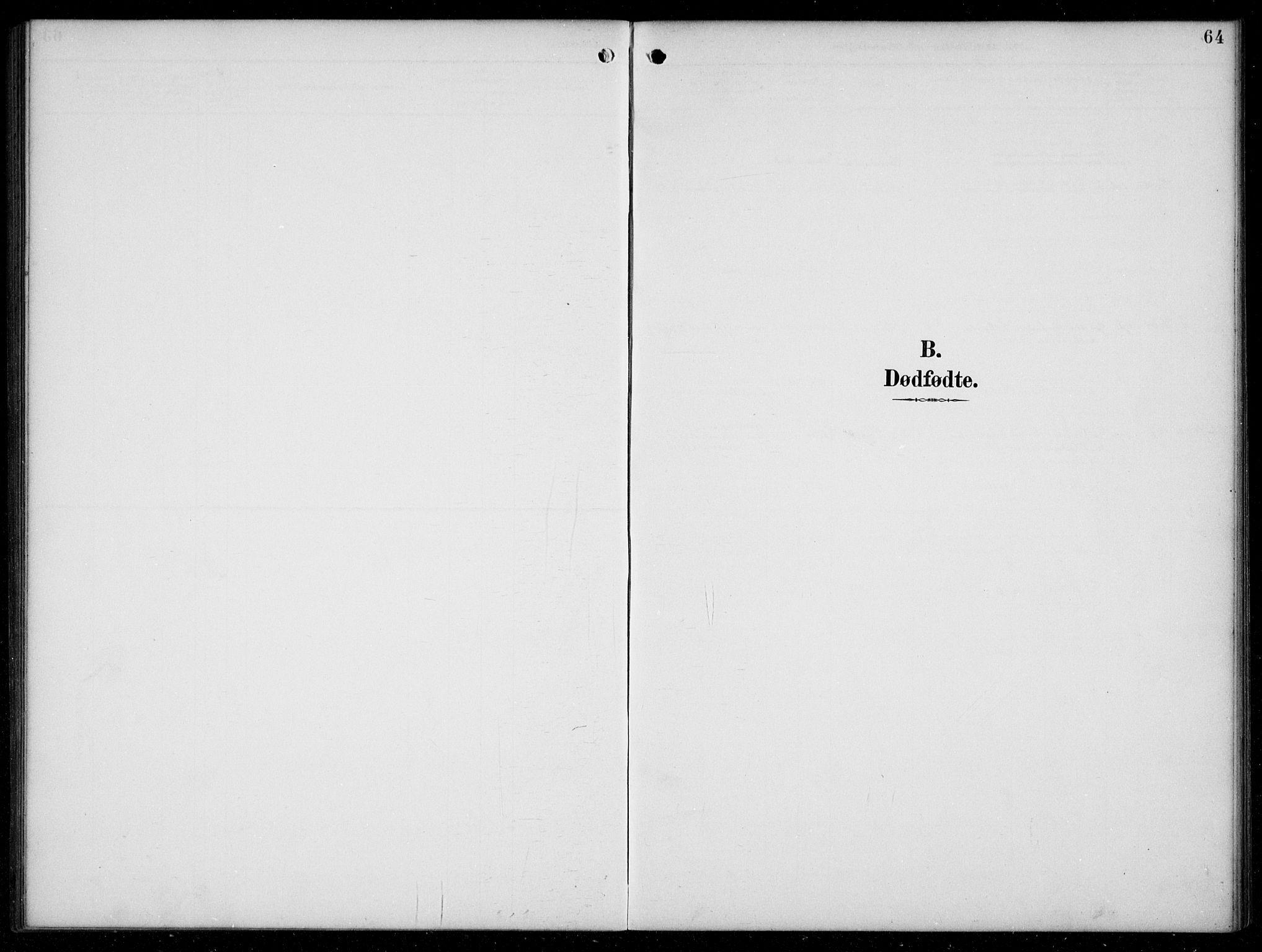 SAB, Hyllestad Sokneprestembete, Klokkerbok nr. C 3, 1894-1913, s. 64