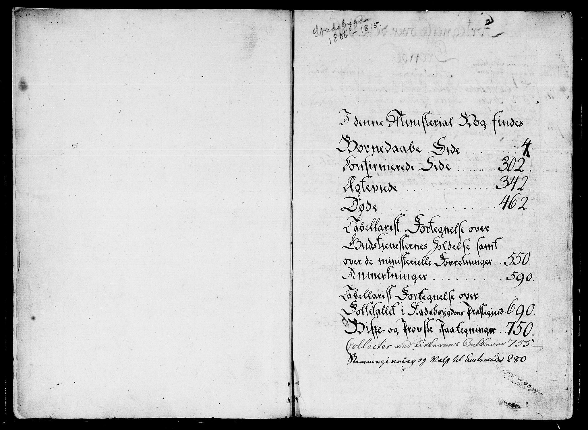 SAT, Ministerialprotokoller, klokkerbøker og fødselsregistre - Sør-Trøndelag, 646/L0607: Ministerialbok nr. 646A05, 1806-1815, s. 2-3
