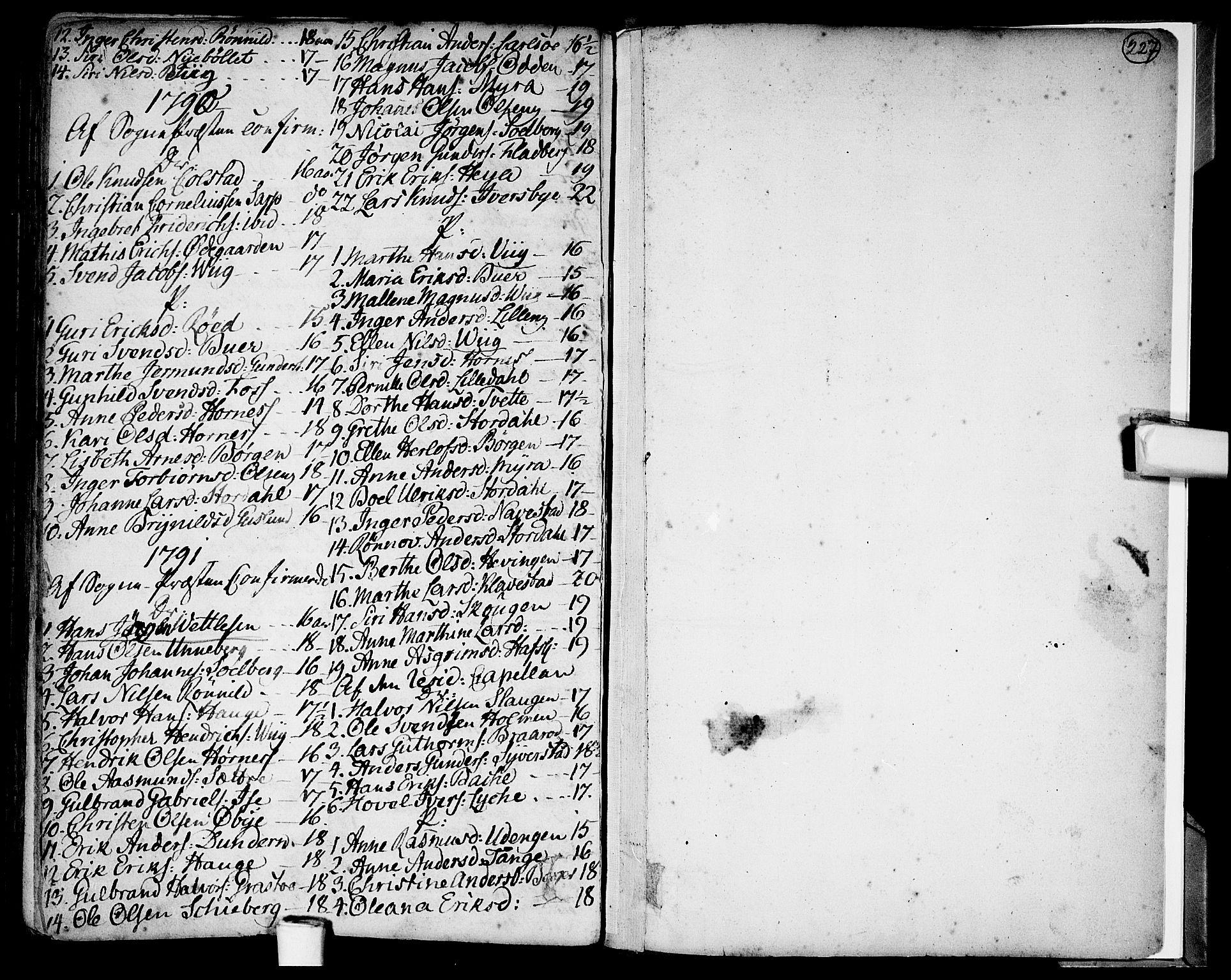 SAO, Skjeberg prestekontor Kirkebøker, F/Fa/L0002: Ministerialbok nr. I 2, 1726-1791, s. 227