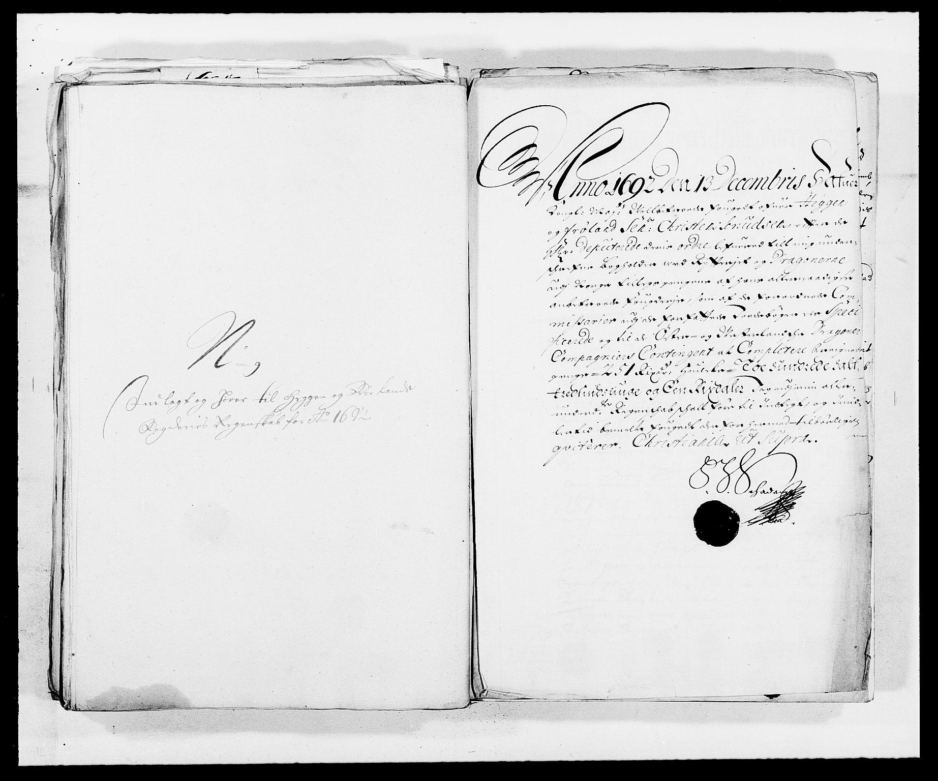 RA, Rentekammeret inntil 1814, Reviderte regnskaper, Fogderegnskap, R06/L0283: Fogderegnskap Heggen og Frøland, 1691-1693, s. 290