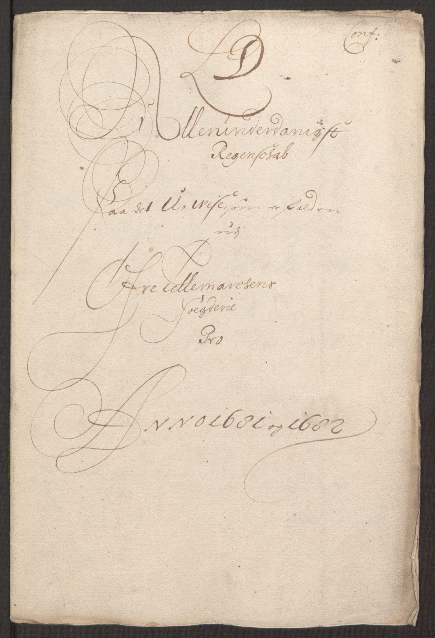RA, Rentekammeret inntil 1814, Reviderte regnskaper, Fogderegnskap, R35/L2078: Fogderegnskap Øvre og Nedre Telemark, 1680-1684, s. 57