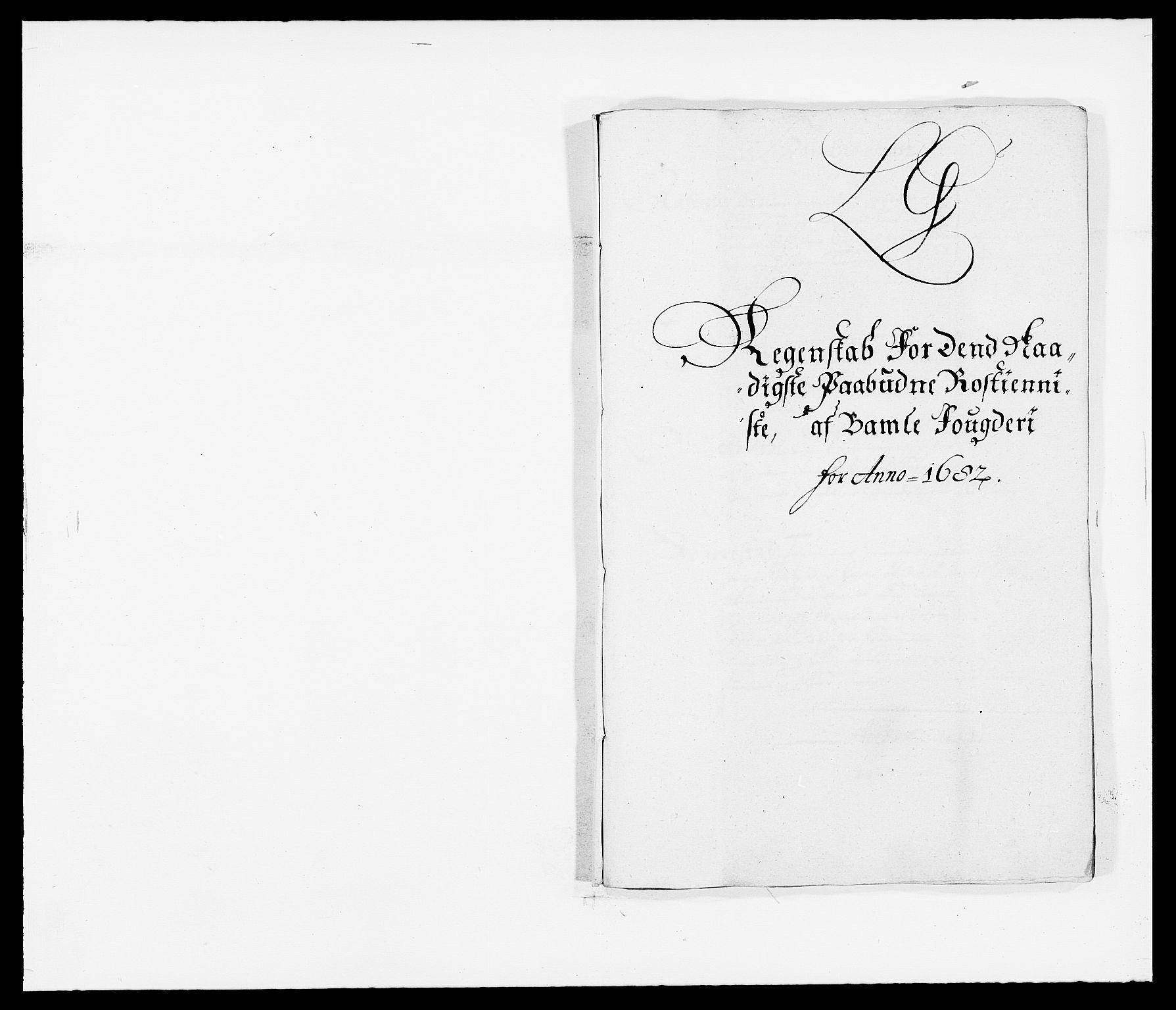RA, Rentekammeret inntil 1814, Reviderte regnskaper, Fogderegnskap, R34/L2046: Fogderegnskap Bamble, 1682-1683, s. 178