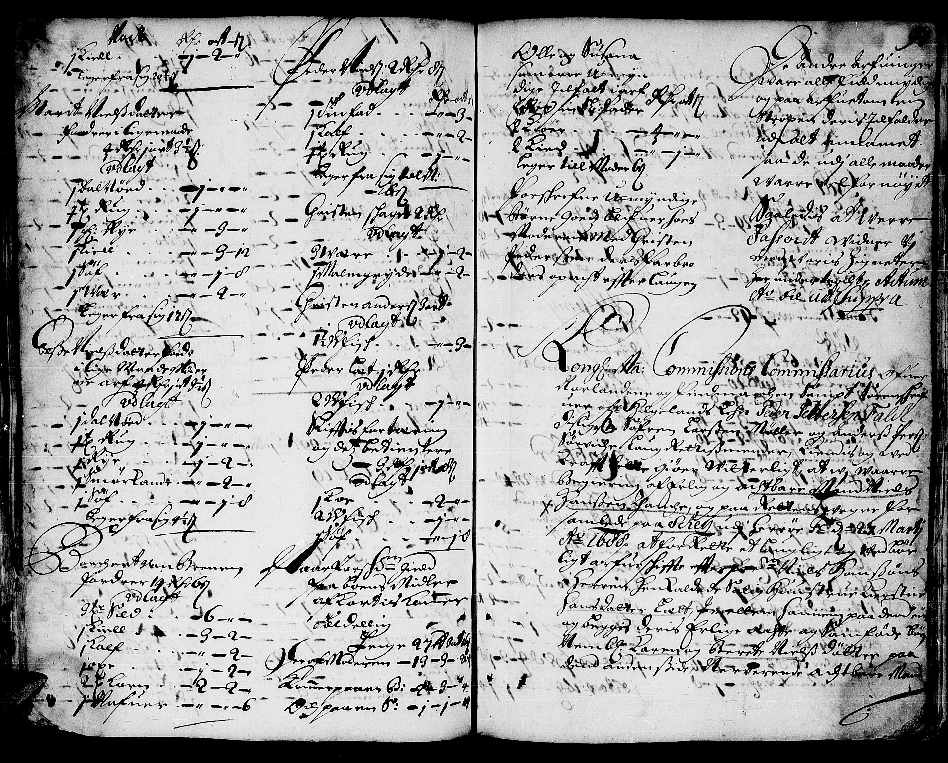 SAT, Helgeland sorenskriveri, 3/3A/L0001: Skifteprotokoll 1, 1686-1696, s. 92b-93a