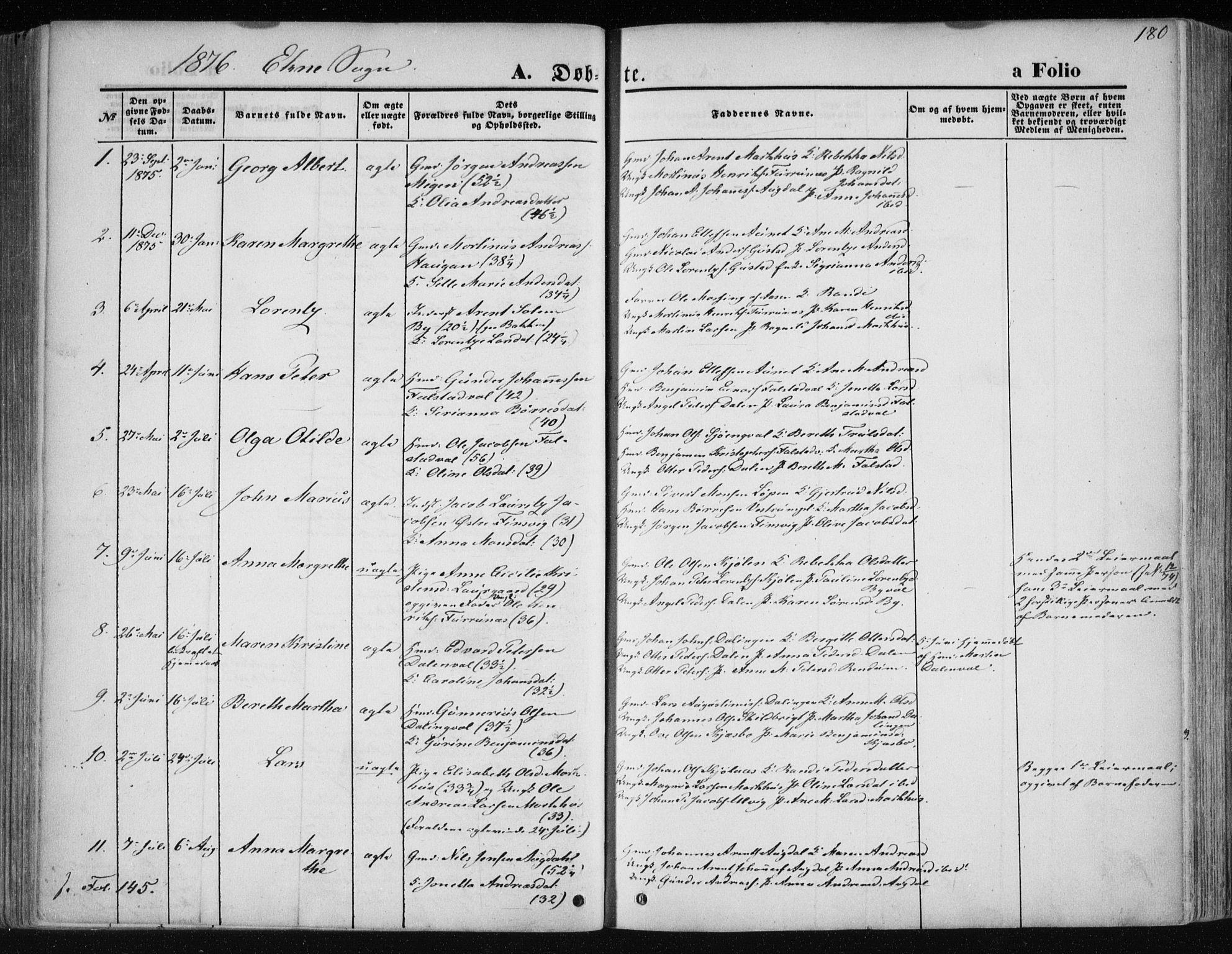 SAT, Ministerialprotokoller, klokkerbøker og fødselsregistre - Nord-Trøndelag, 717/L0158: Ministerialbok nr. 717A08 /2, 1863-1877, s. 180