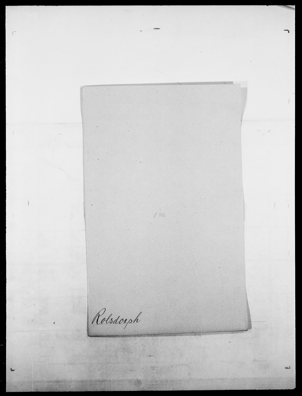 SAO, Delgobe, Charles Antoine - samling, D/Da/L0033: Roald - Røyem, s. 158