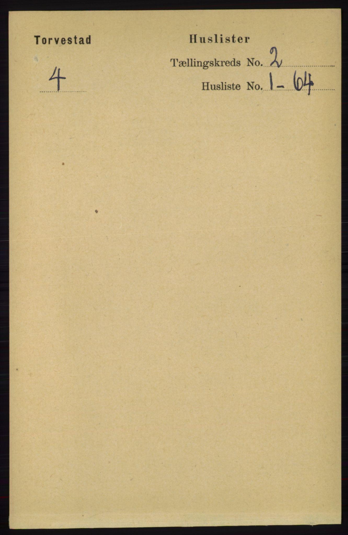 RA, Folketelling 1891 for 1152 Torvastad herred, 1891, s. 448