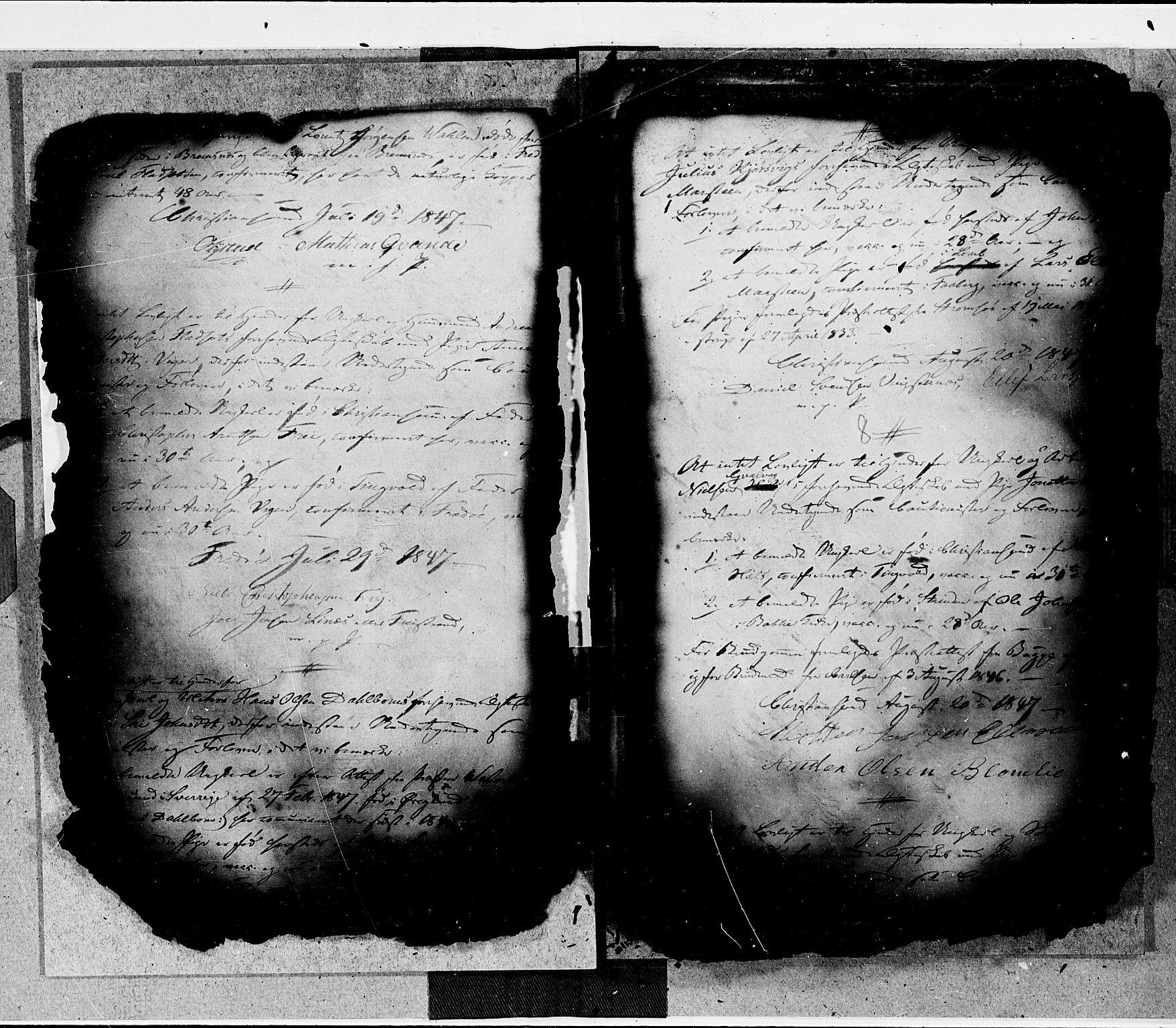 SAT, Arkivreferanse ukjent*, Forlovererklæringer nr. 16, 1846-1855, s. 8