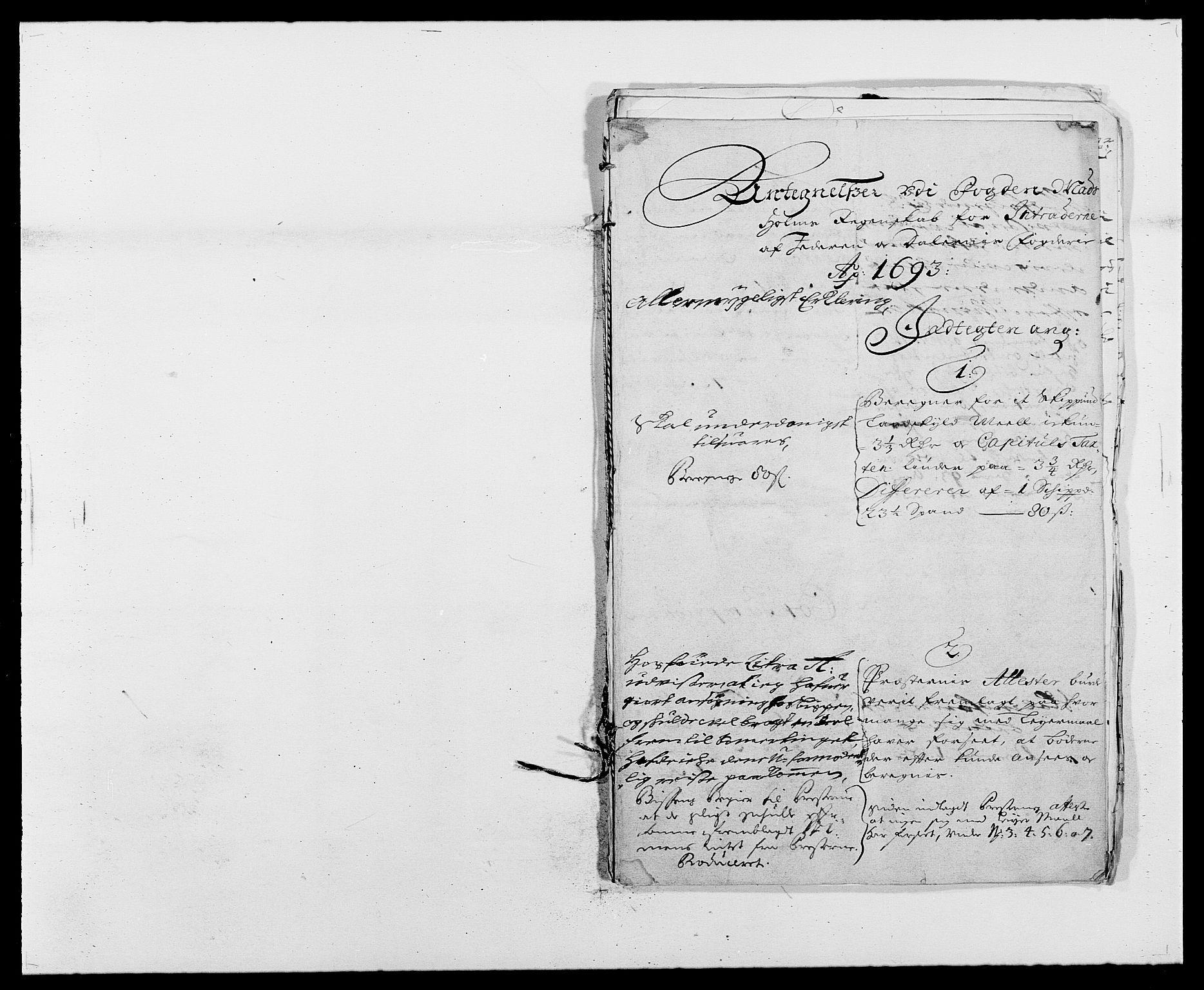 RA, Rentekammeret inntil 1814, Reviderte regnskaper, Fogderegnskap, R46/L2727: Fogderegnskap Jæren og Dalane, 1690-1693, s. 278