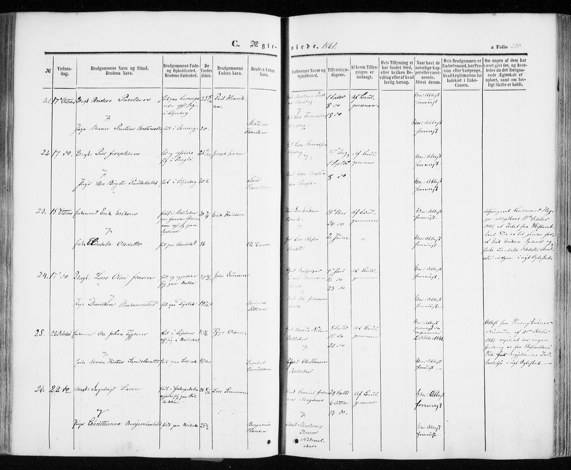 SATØ, Ibestad sokneprestembete, Ministerialbok nr. 9, 1859-1868, s. 270