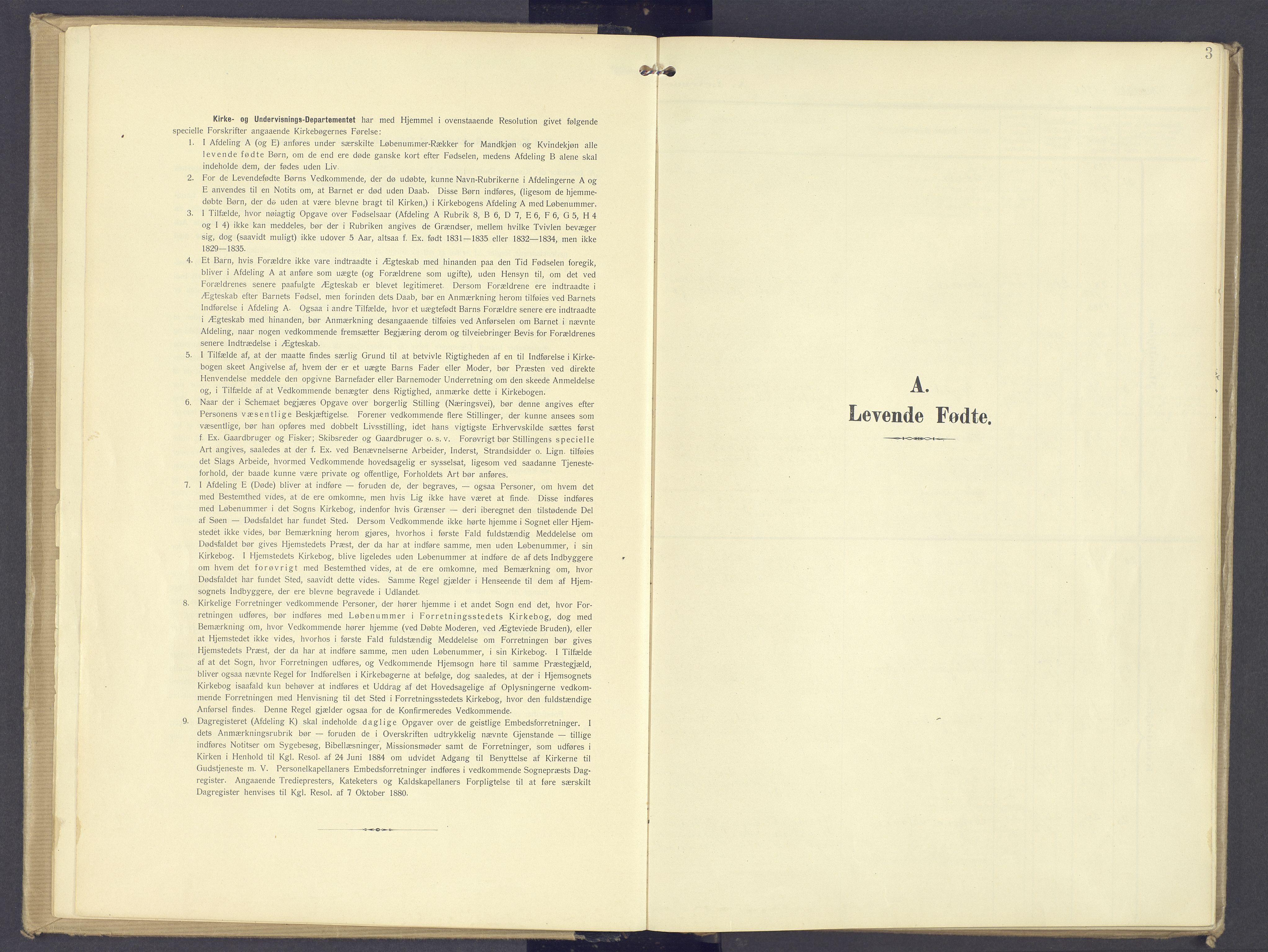 SAH, Øyer prestekontor, Ministerialbok nr. 13, 1905-1920, s. 3