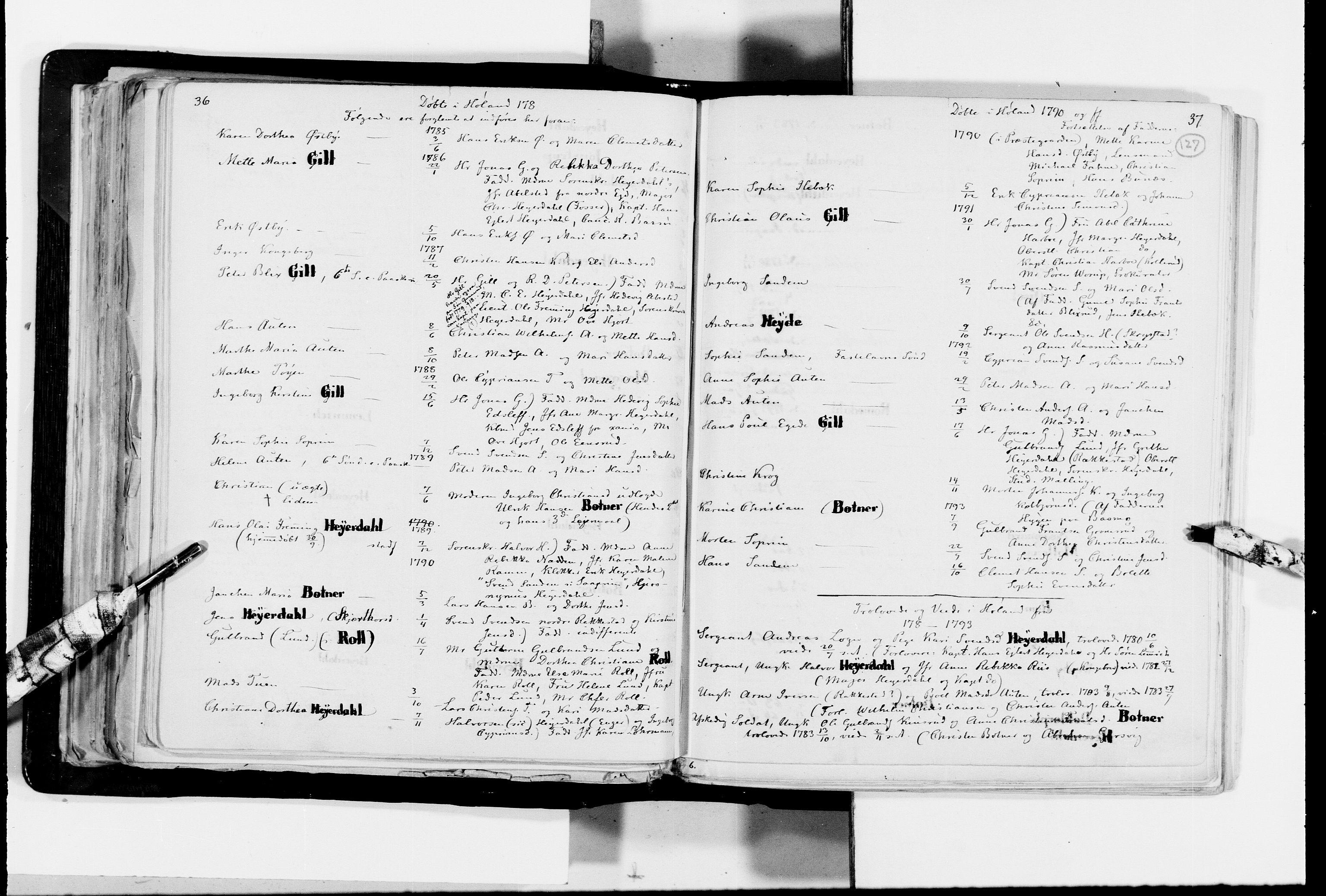 RA, Lassens samlinger, F/Fc, s. 127