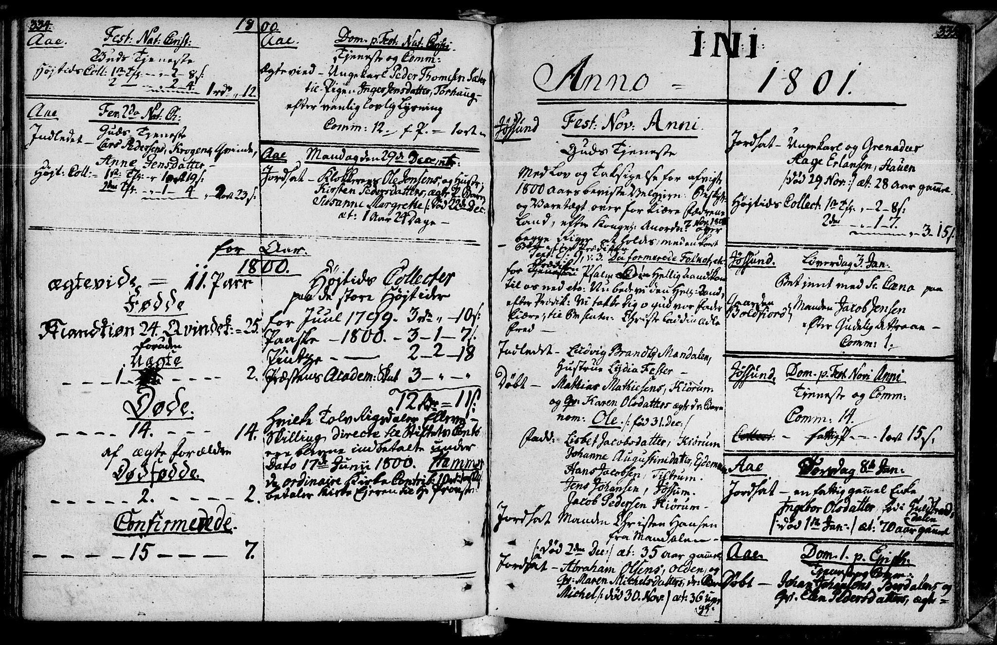 SAT, Ministerialprotokoller, klokkerbøker og fødselsregistre - Sør-Trøndelag, 655/L0673: Ministerialbok nr. 655A02, 1780-1801, s. 334-335