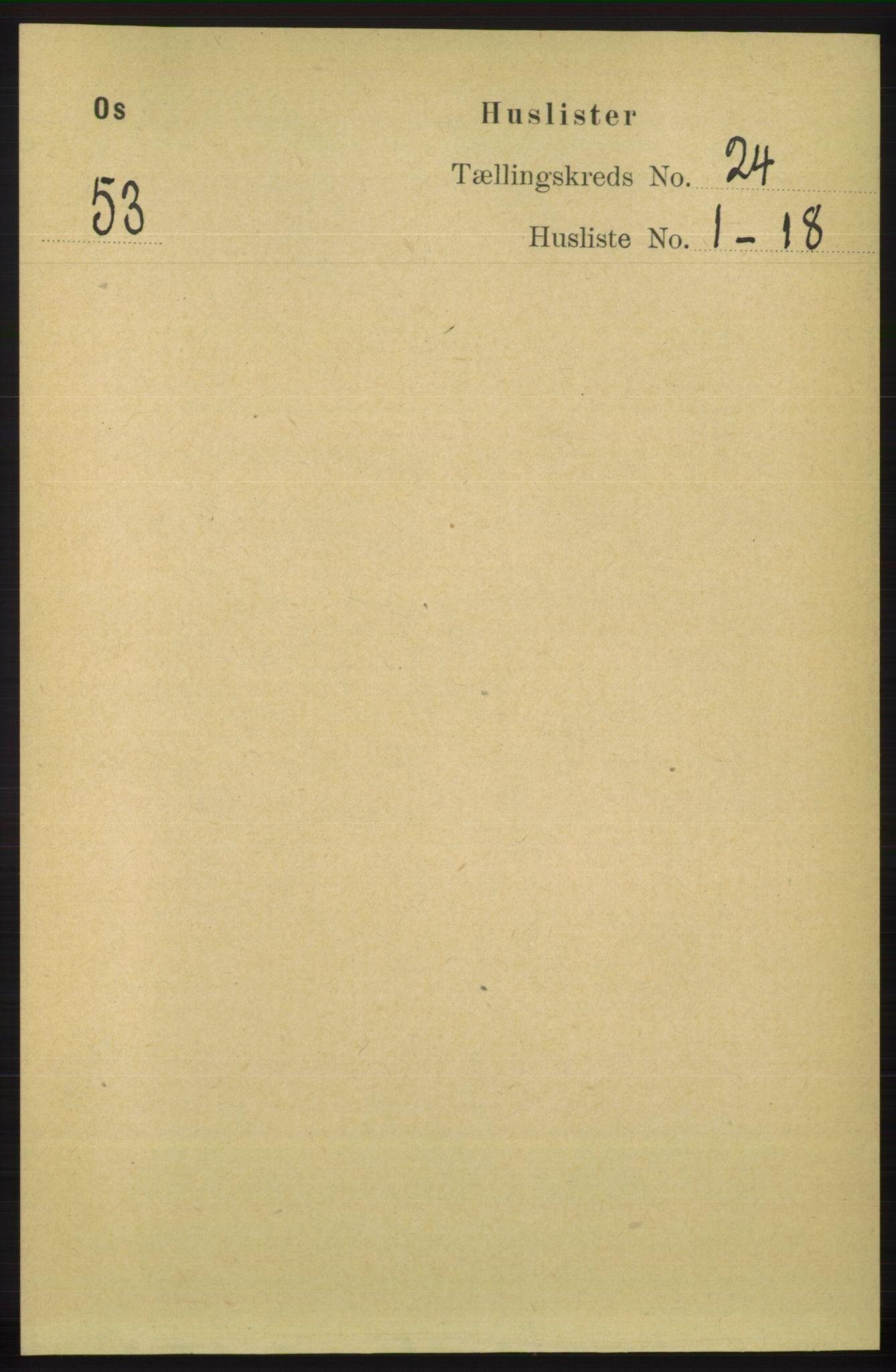 RA, Folketelling 1891 for 1243 Os herred, 1891, s. 5187