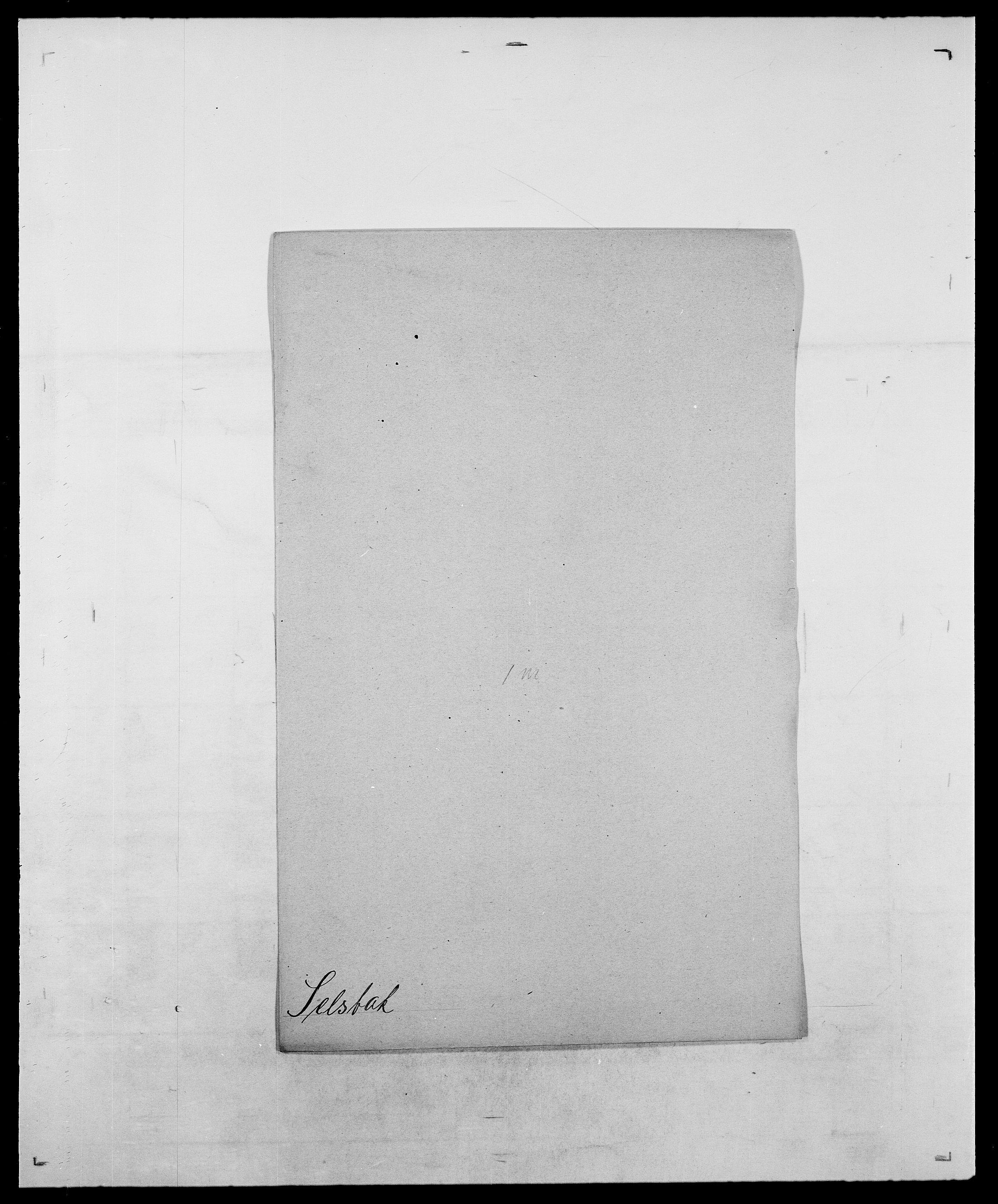 SAO, Delgobe, Charles Antoine - samling, D/Da/L0035: Schnabel - sjetman, s. 673