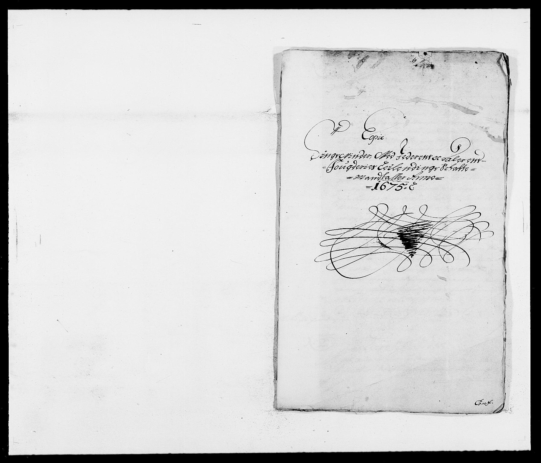RA, Rentekammeret inntil 1814, Reviderte regnskaper, Fogderegnskap, R46/L2715: Fogderegnskap Jæren og Dalane, 1675, s. 375