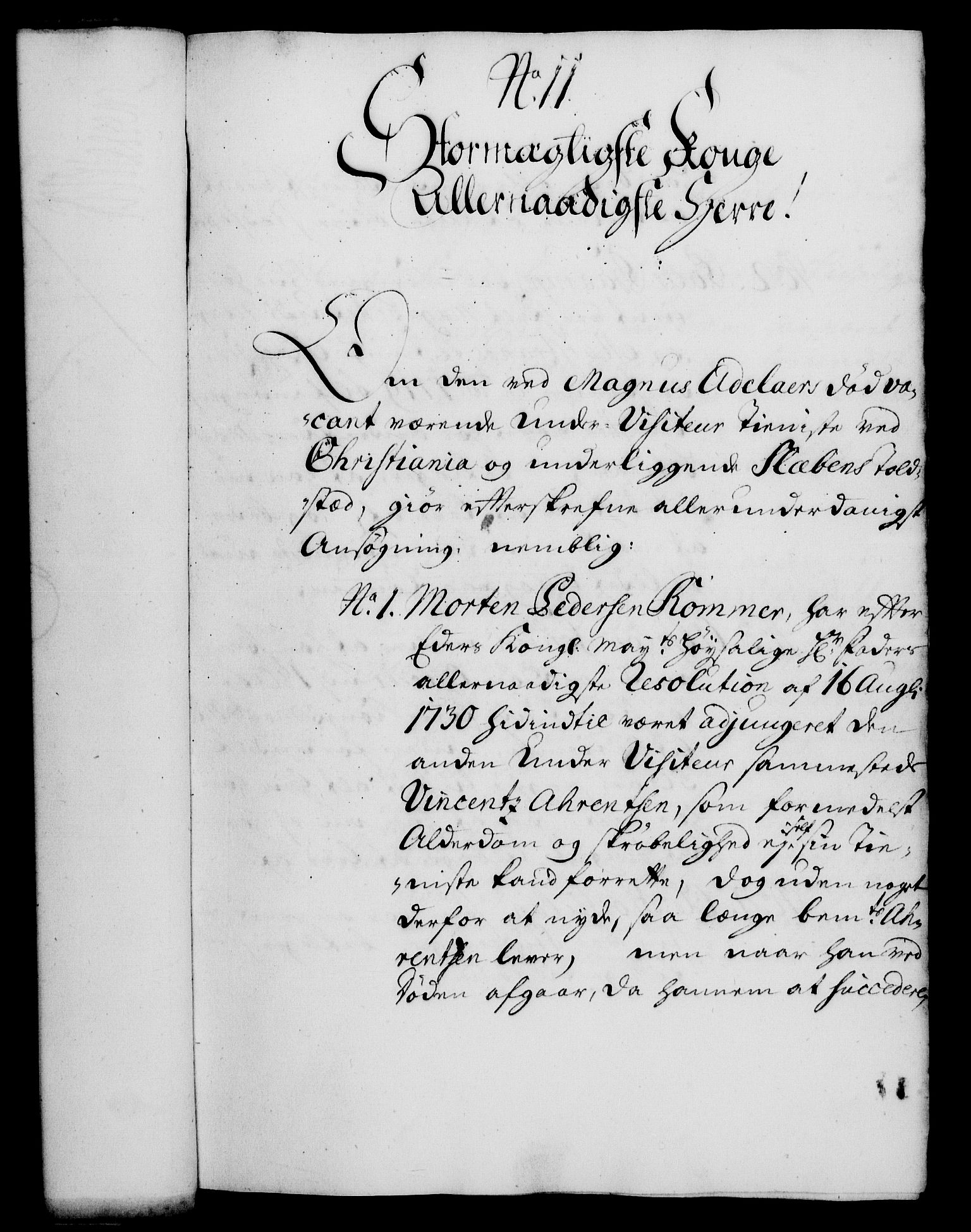 RA, Rentekammeret, Kammerkanselliet, G/Gf/Gfa/L0015: Norsk relasjons- og resolusjonsprotokoll (merket RK 52.15), 1732, s. 73