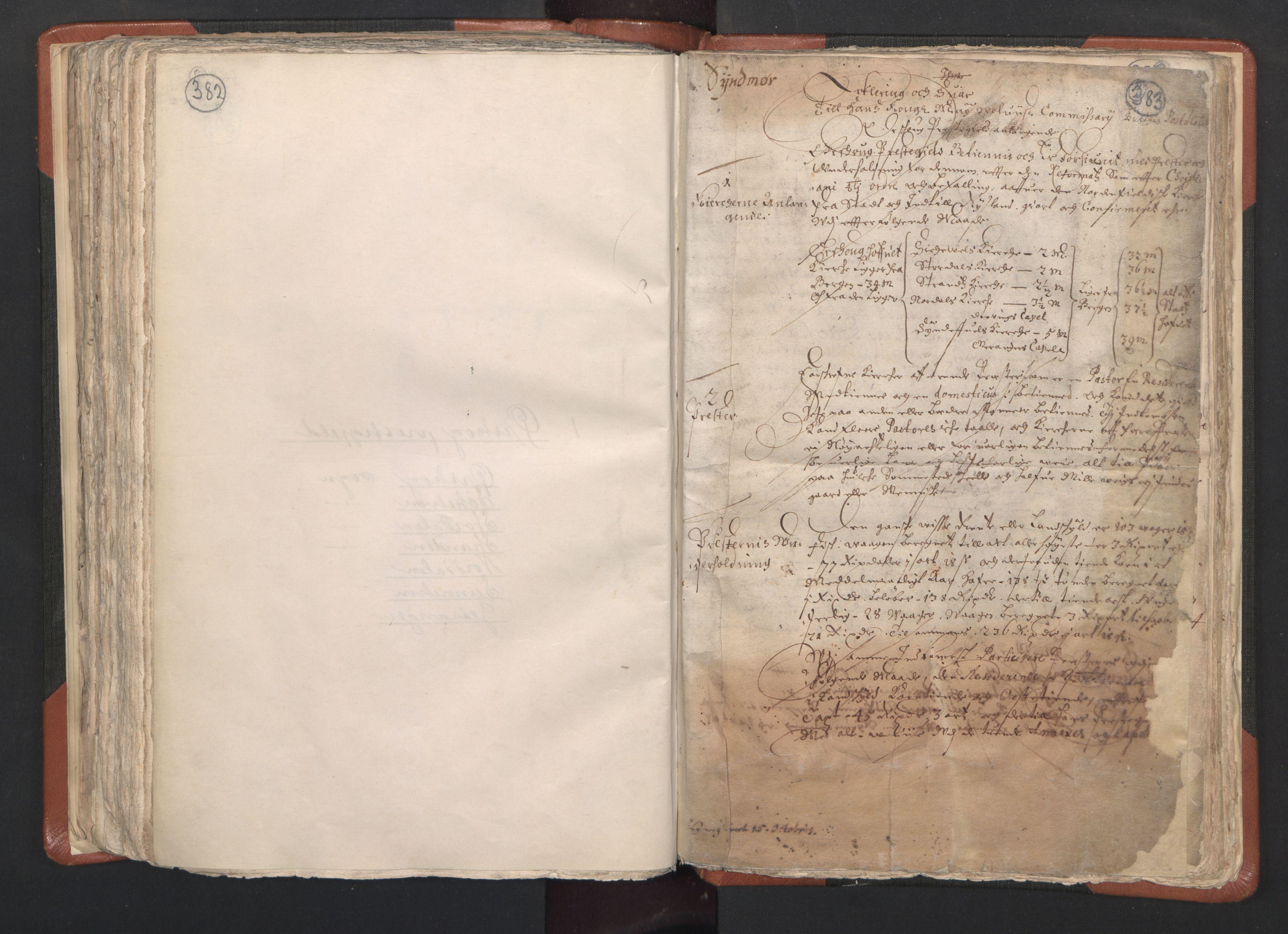 RA, Sogneprestenes manntall 1664-1666, nr. 26: Sunnmøre prosti, 1664-1666, s. 382-383
