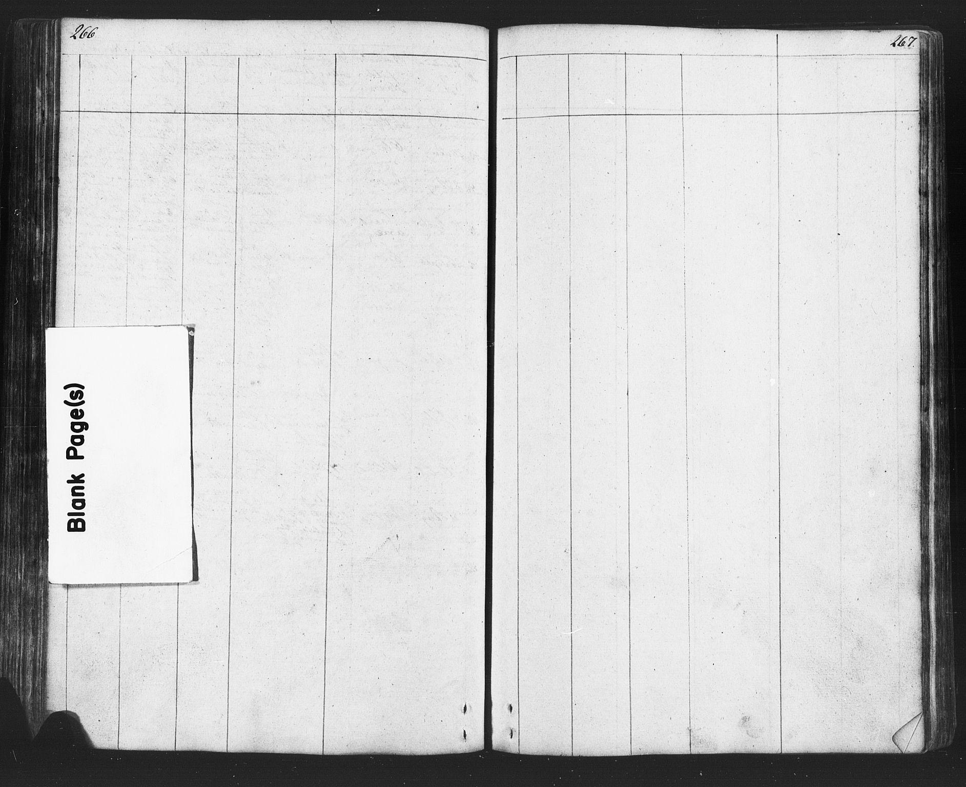 SAH, Lesja prestekontor, Klokkerbok nr. 2, 1832-1850, s. 266-267