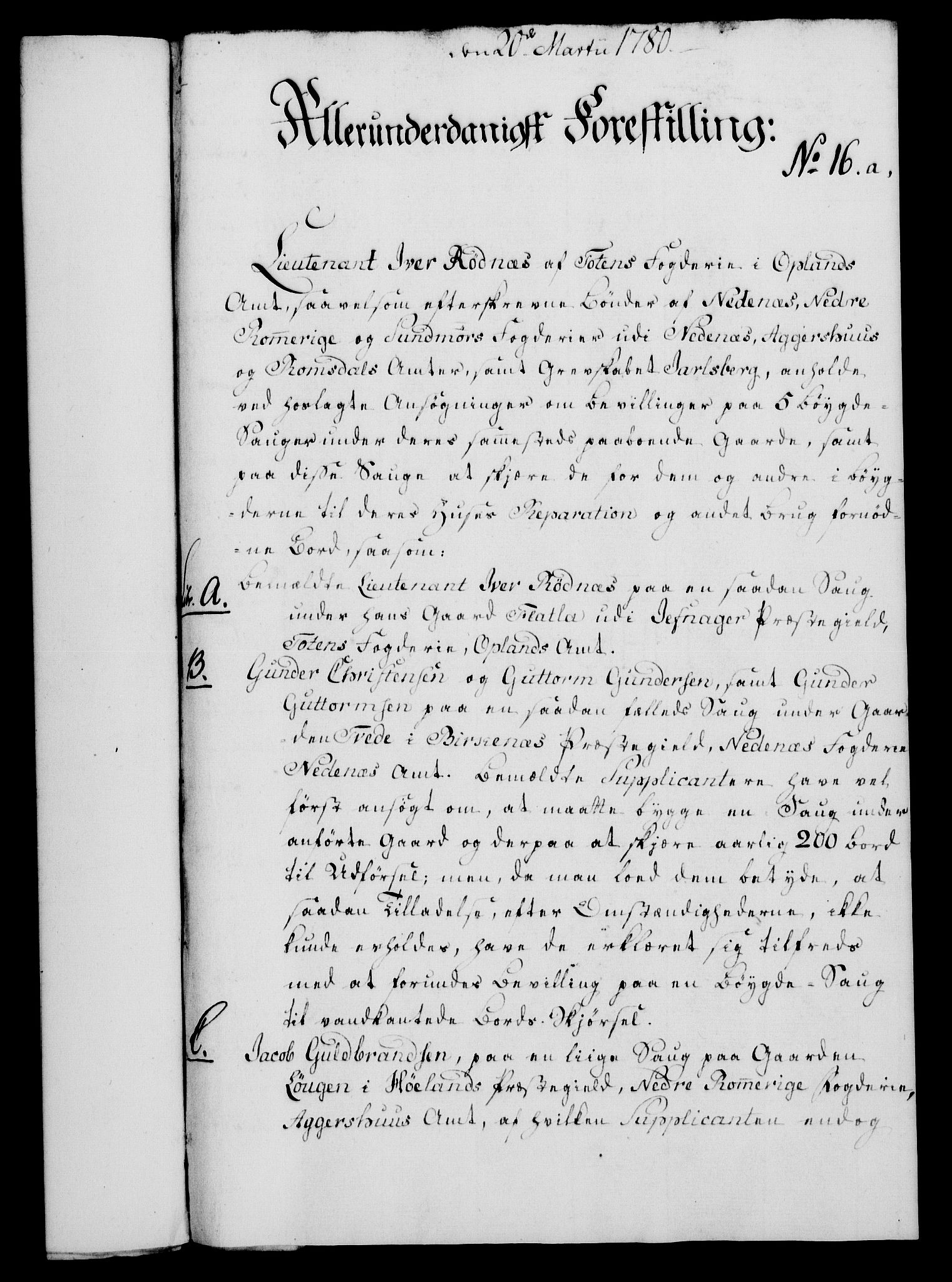 RA, Rentekammeret, Kammerkanselliet, G/Gf/Gfa/L0062: Norsk relasjons- og resolusjonsprotokoll (merket RK 52.62), 1780, s. 127