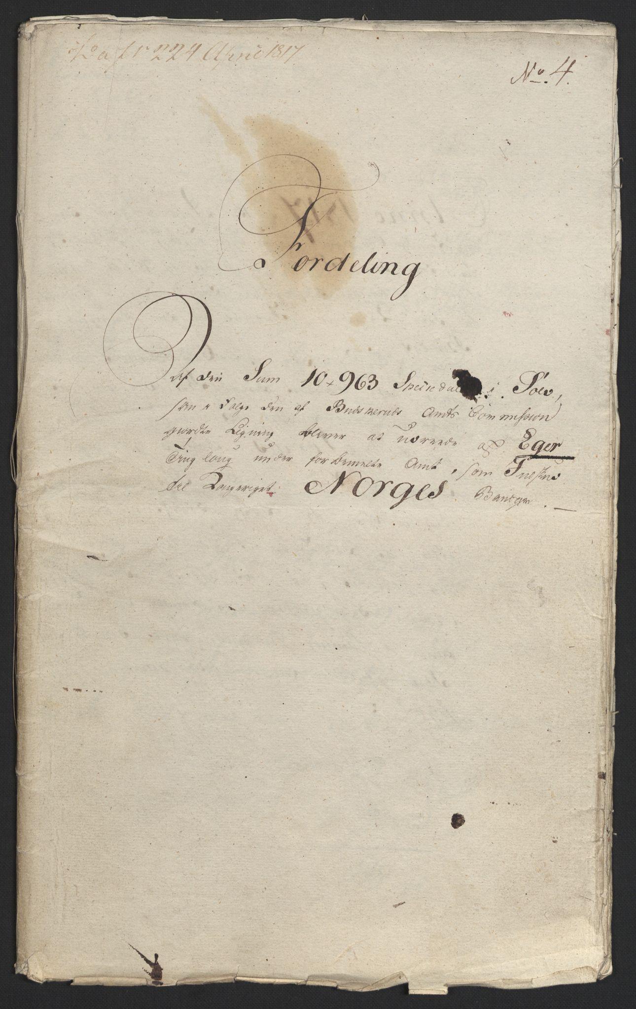 NOBA, Norges Bank/Sølvskatten 1816*, 1816-1822, s. 38