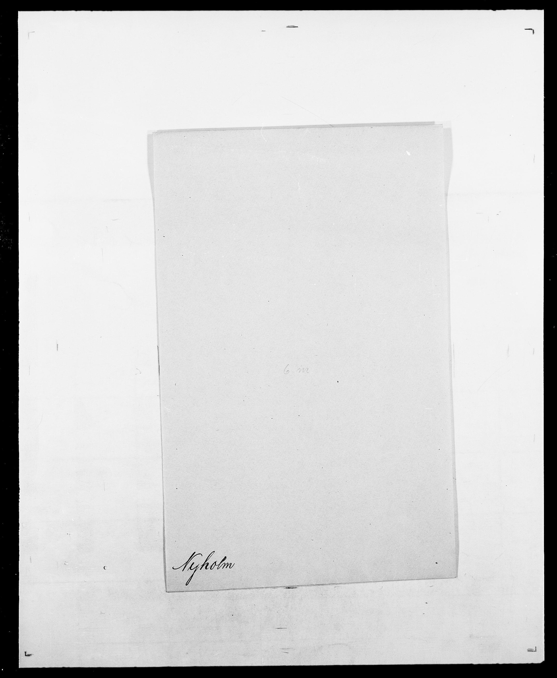 SAO, Delgobe, Charles Antoine - samling, D/Da/L0028: Naaden - Nøvik, s. 549