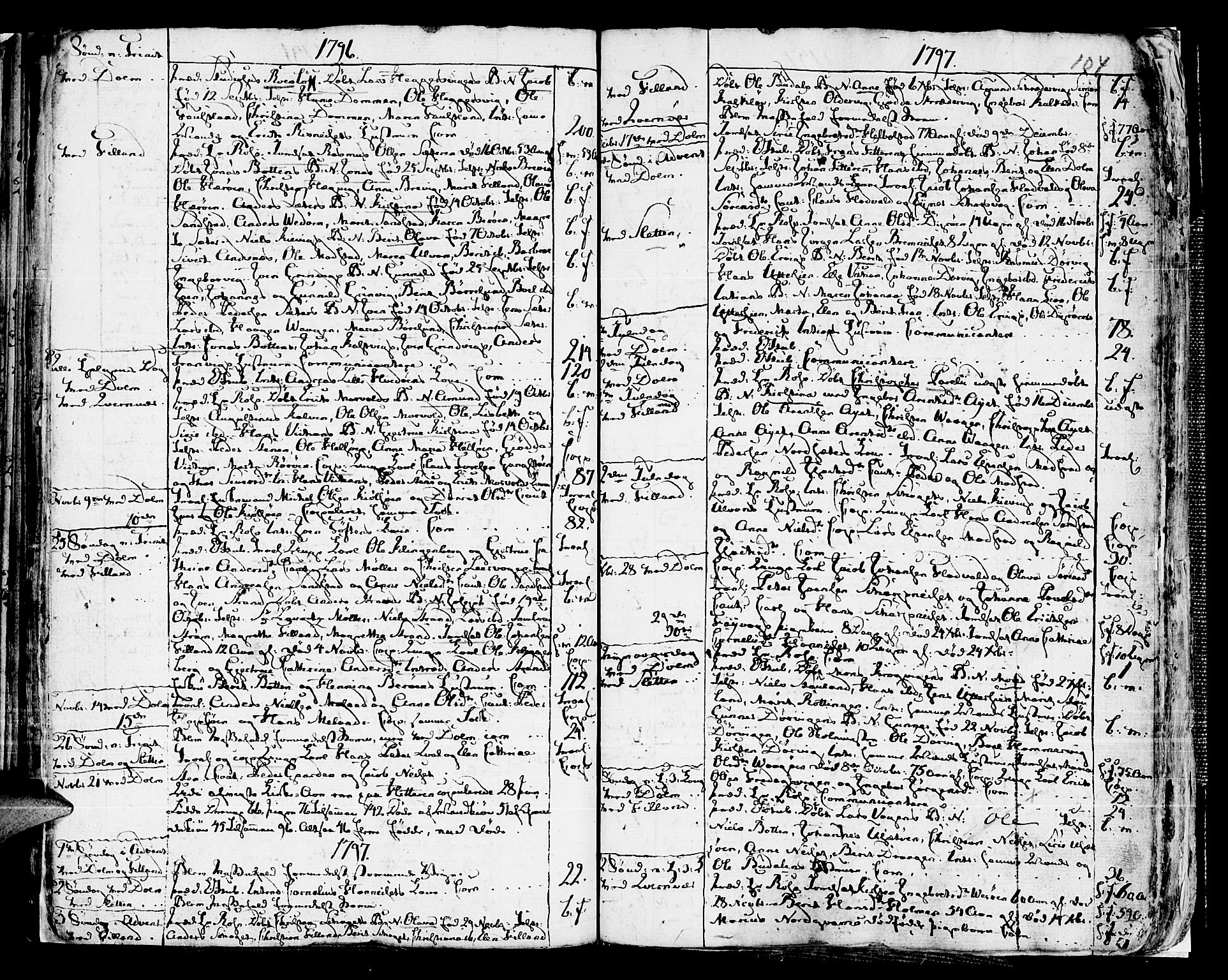 SAT, Ministerialprotokoller, klokkerbøker og fødselsregistre - Sør-Trøndelag, 634/L0526: Ministerialbok nr. 634A02, 1775-1818, s. 104