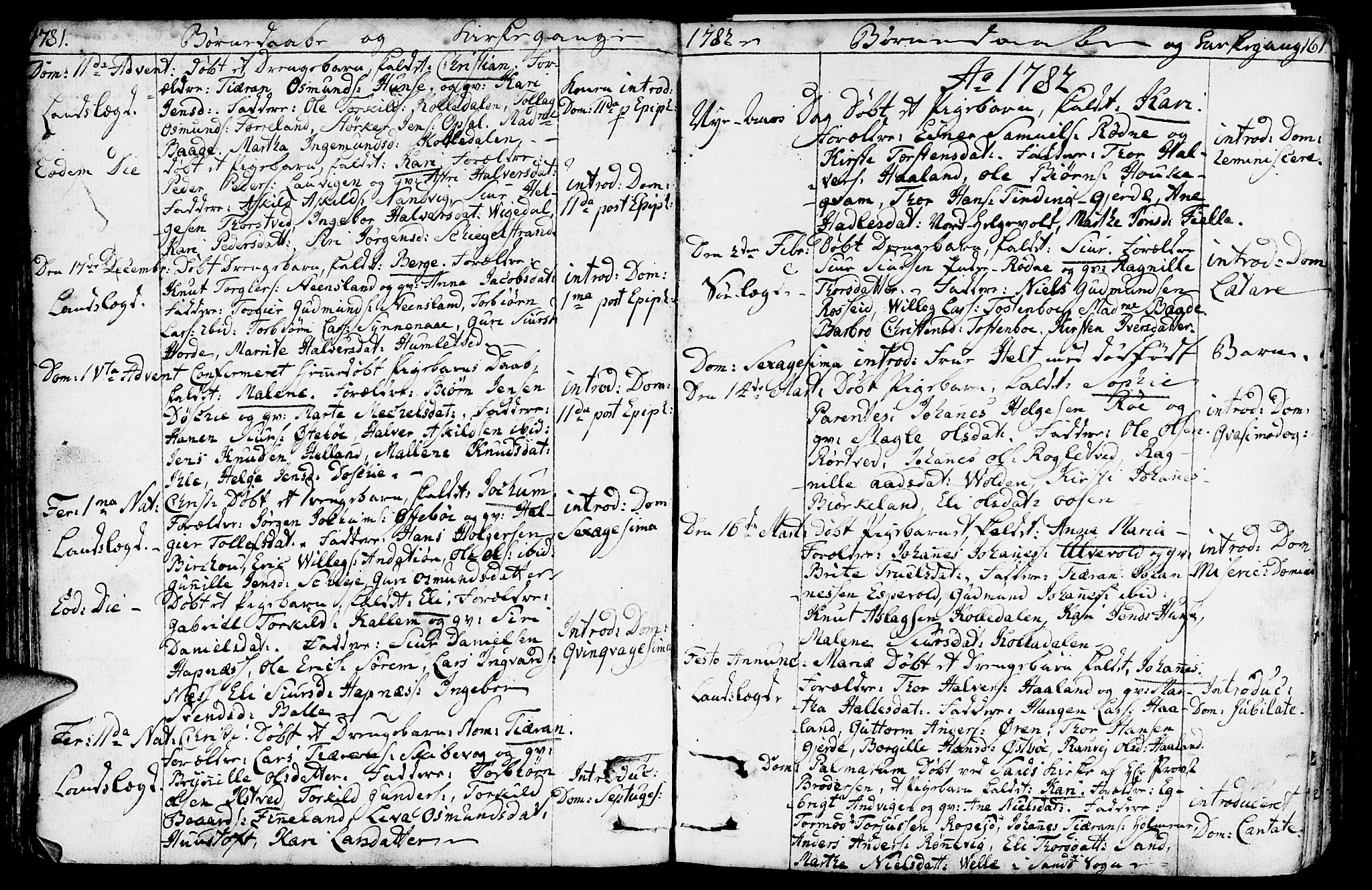 SAST, Vikedal sokneprestkontor, IV: Ministerialbok nr. A 2, 1779-1817, s. 61