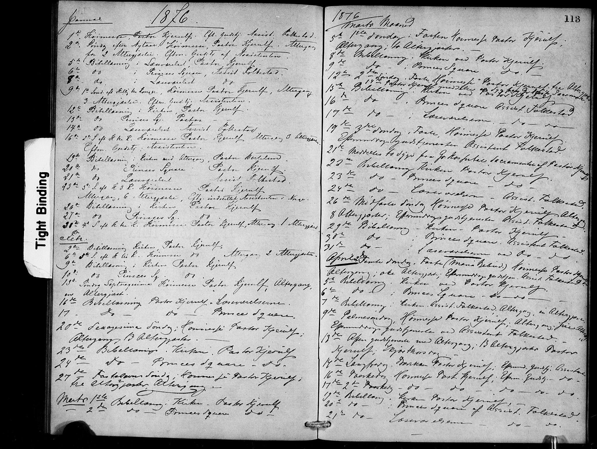 SAB, Den Norske Sjømannsmisjon i utlandet*, Ministerialbok nr. A 1, 1868-1887, s. 113