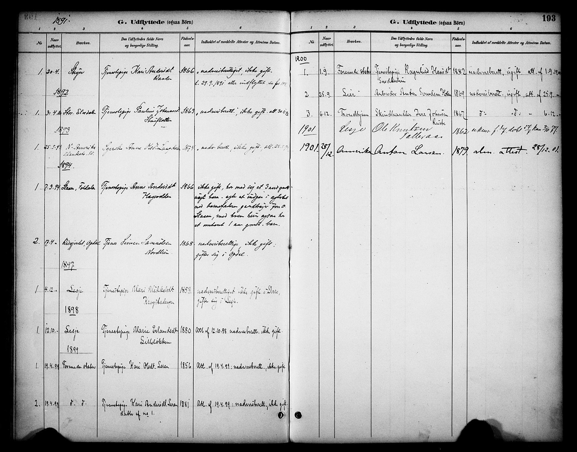 SAH, Dovre prestekontor, Ministerialbok nr. 3, 1891-1901, s. 193