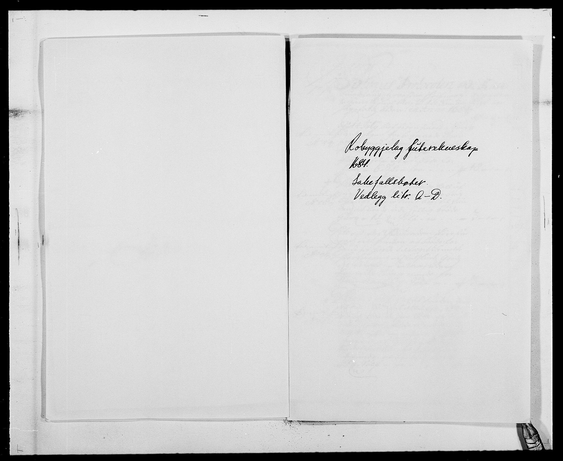 RA, Rentekammeret inntil 1814, Reviderte regnskaper, Fogderegnskap, R40/L2439: Fogderegnskap Råbyggelag, 1684-1685, s. 99