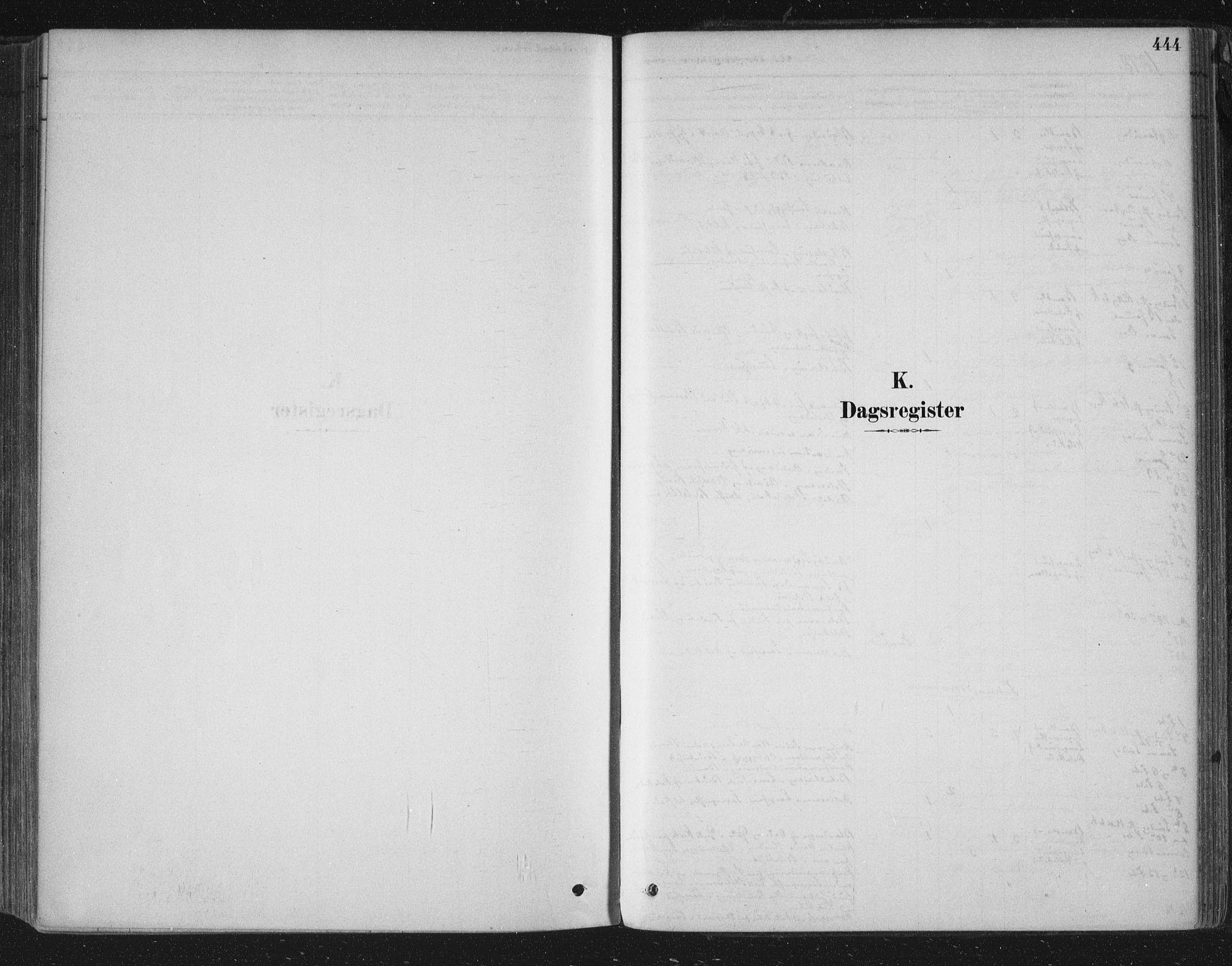SAKO, Bamble kirkebøker, F/Fa/L0007: Ministerialbok nr. I 7, 1878-1888, s. 444